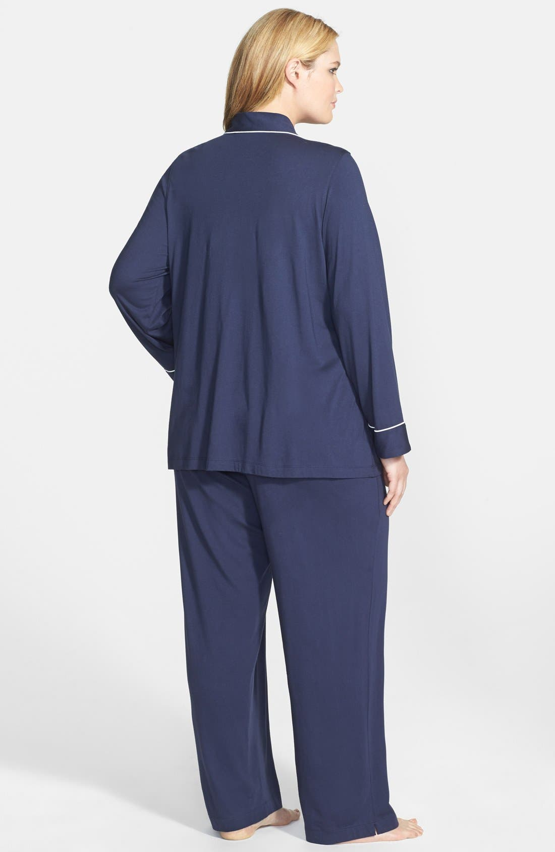 Knit Pajamas,                             Alternate thumbnail 2, color,                             410