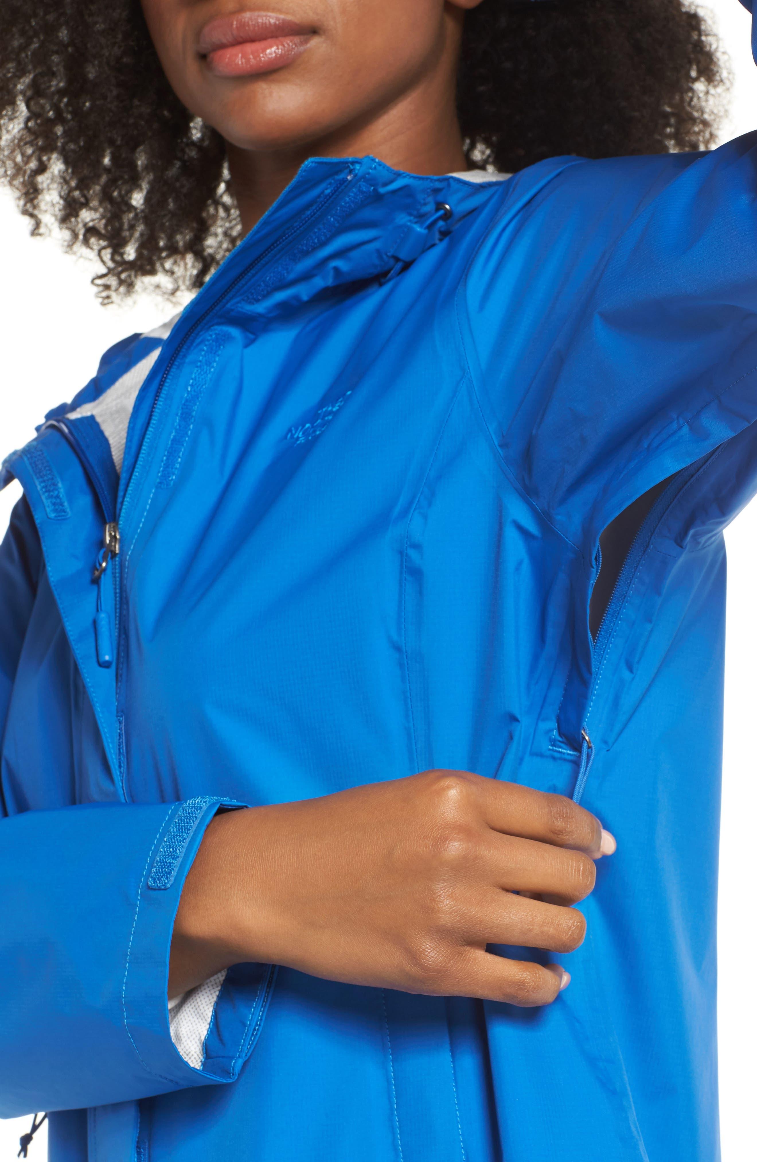 Venture 2 Waterproof Jacket,                             Alternate thumbnail 4, color,                             TURKISH SEA
