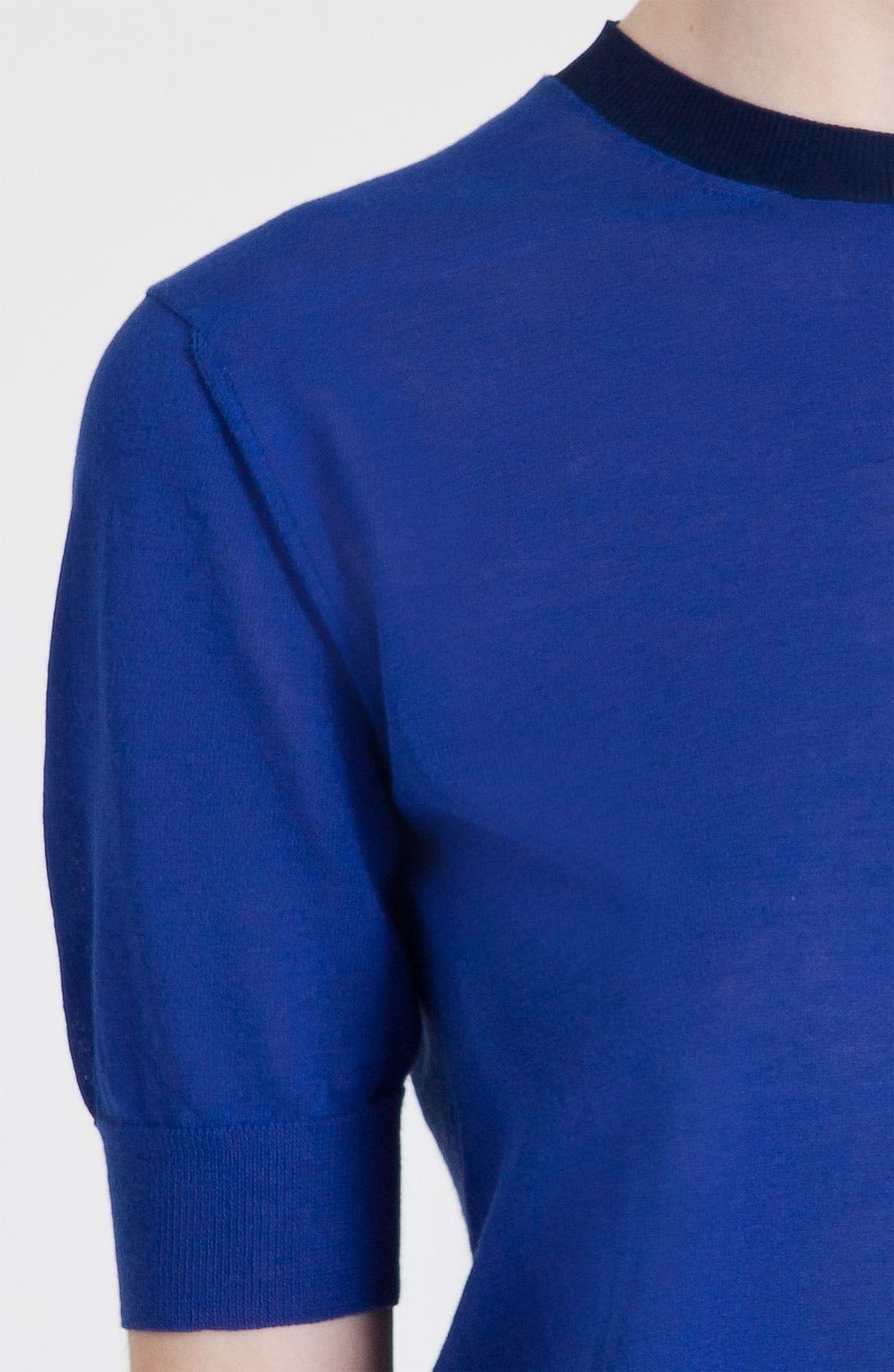 Bicolor Sweater,                             Alternate thumbnail 2, color,                             410