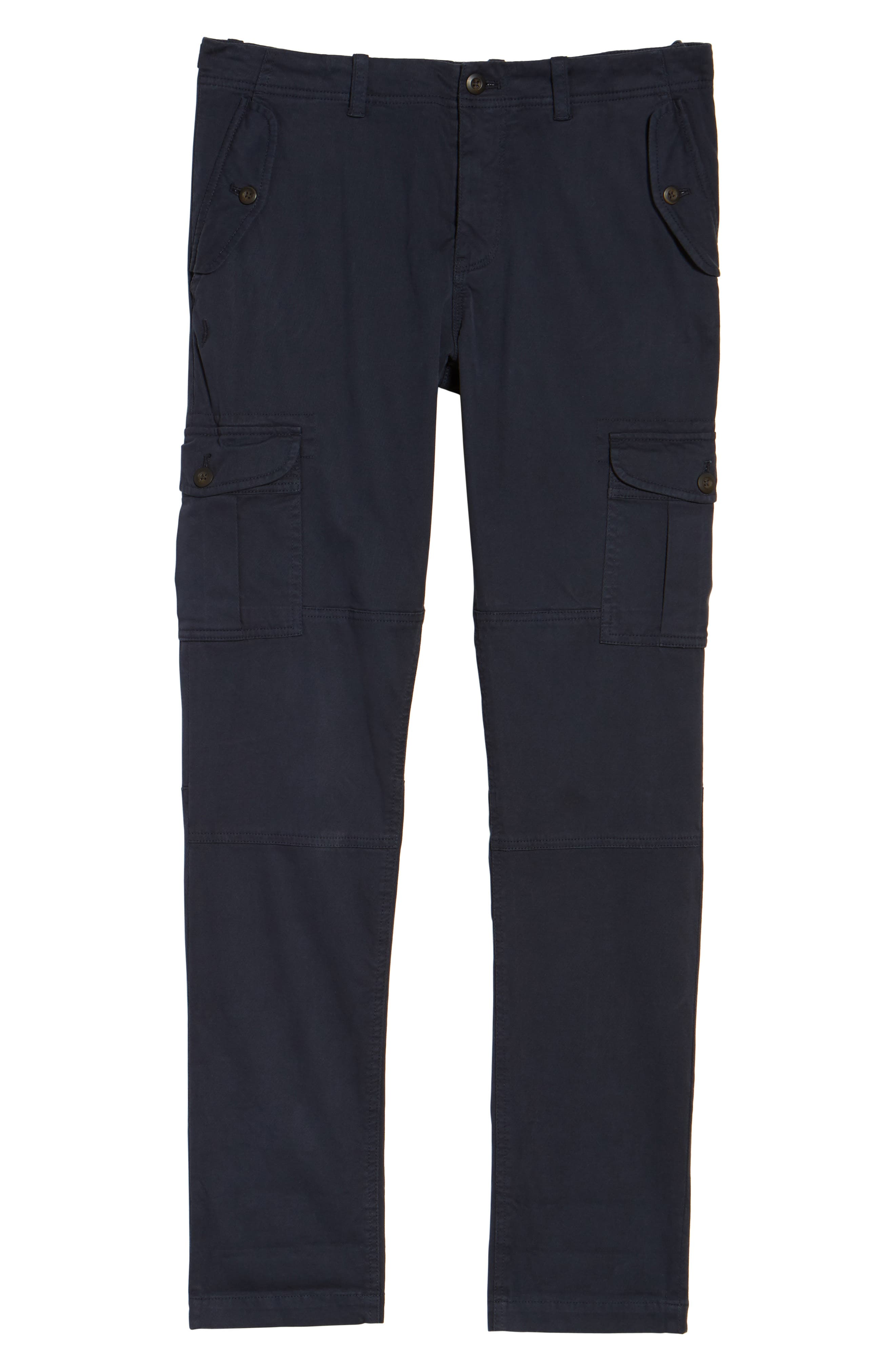 Stretch Twill Cargo Pants,                             Alternate thumbnail 18, color,