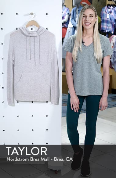Cashmere and Wool Hoodie, sales video thumbnail