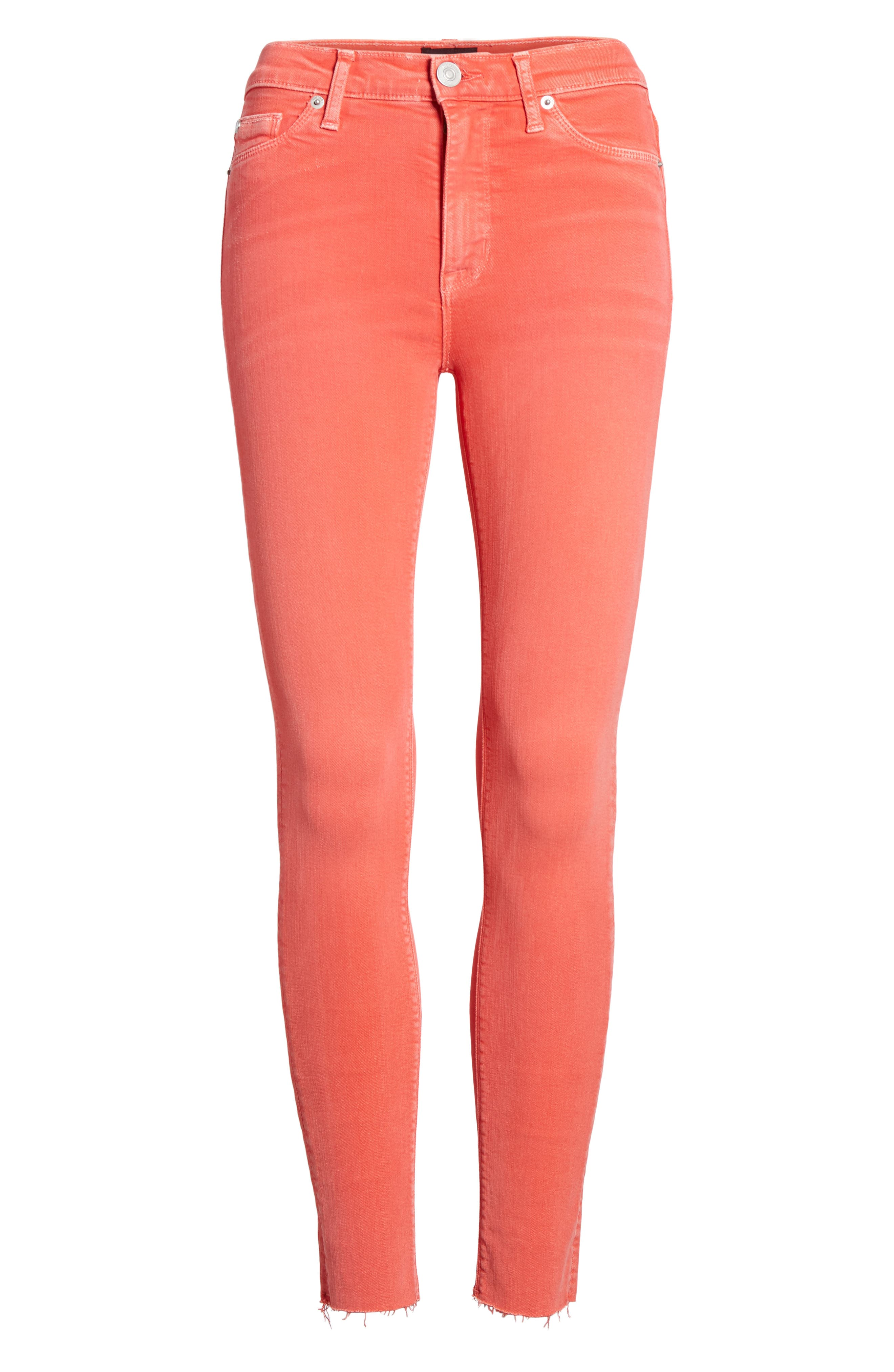 HUDSON JEANS,                             Tally Crop Skinny Jeans,                             Alternate thumbnail 7, color,                             640