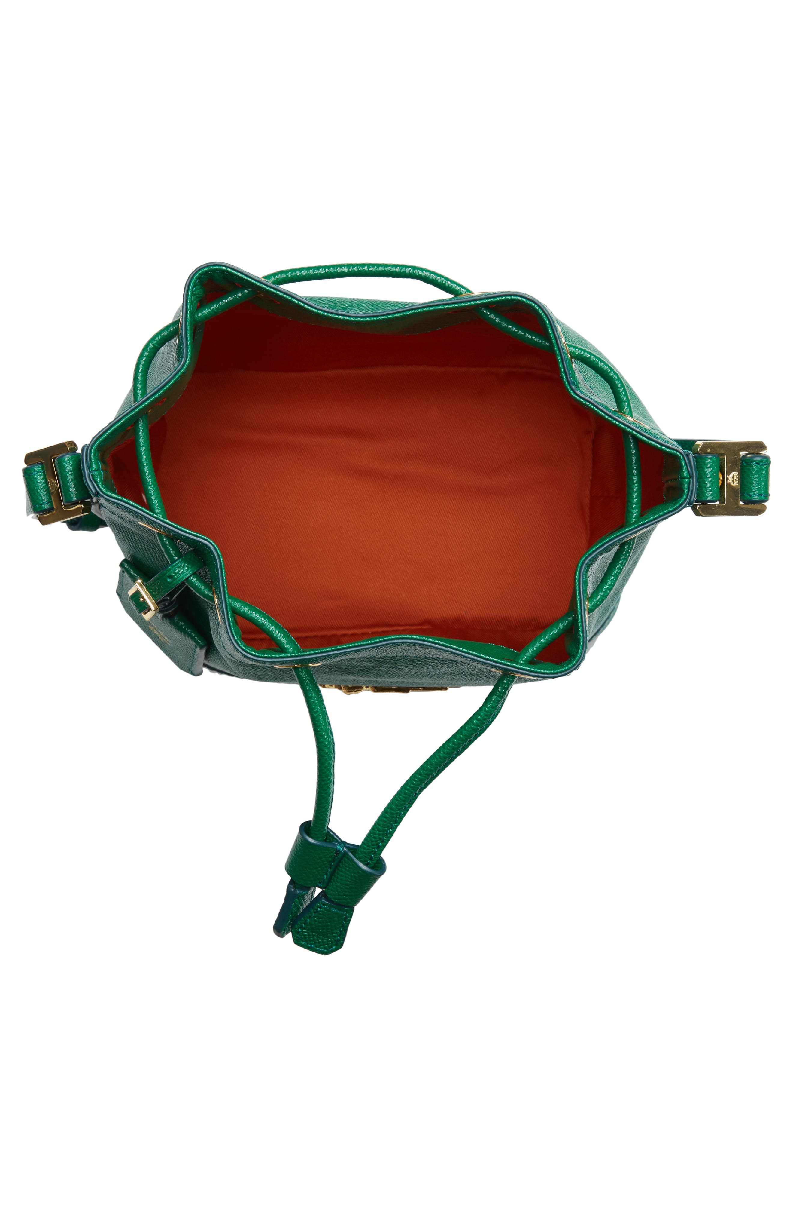 Mini RGB Drawstring Crossbody Bag,                             Alternate thumbnail 4, color,                             GREEN