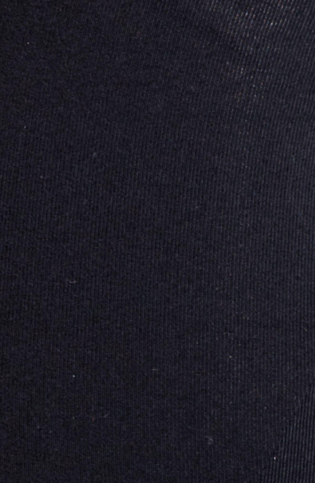 Juno Maternity Leggings,                             Alternate thumbnail 5, color,                             BLACK