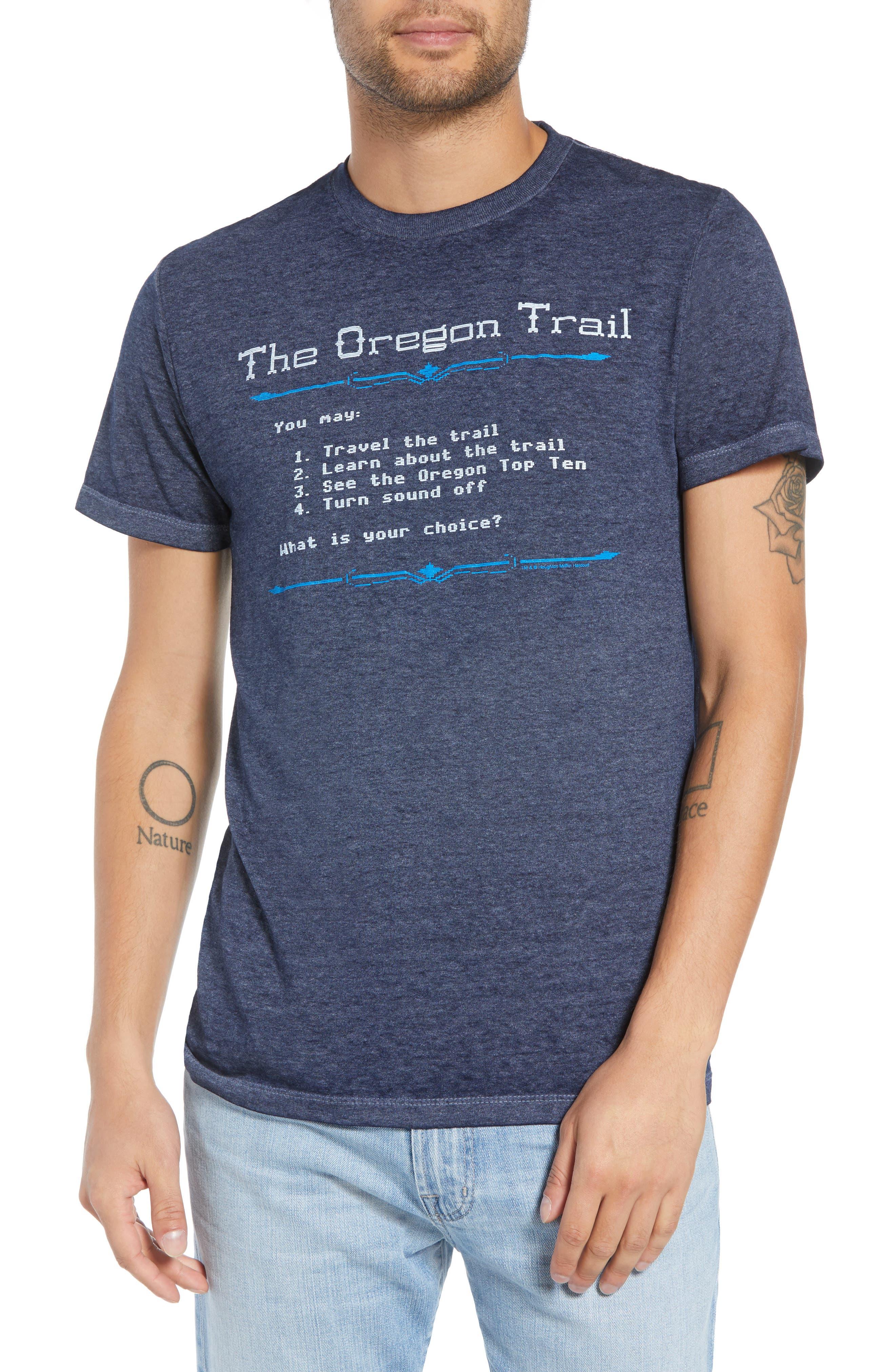 Oregon Trail T-Shirt,                         Main,                         color, 001