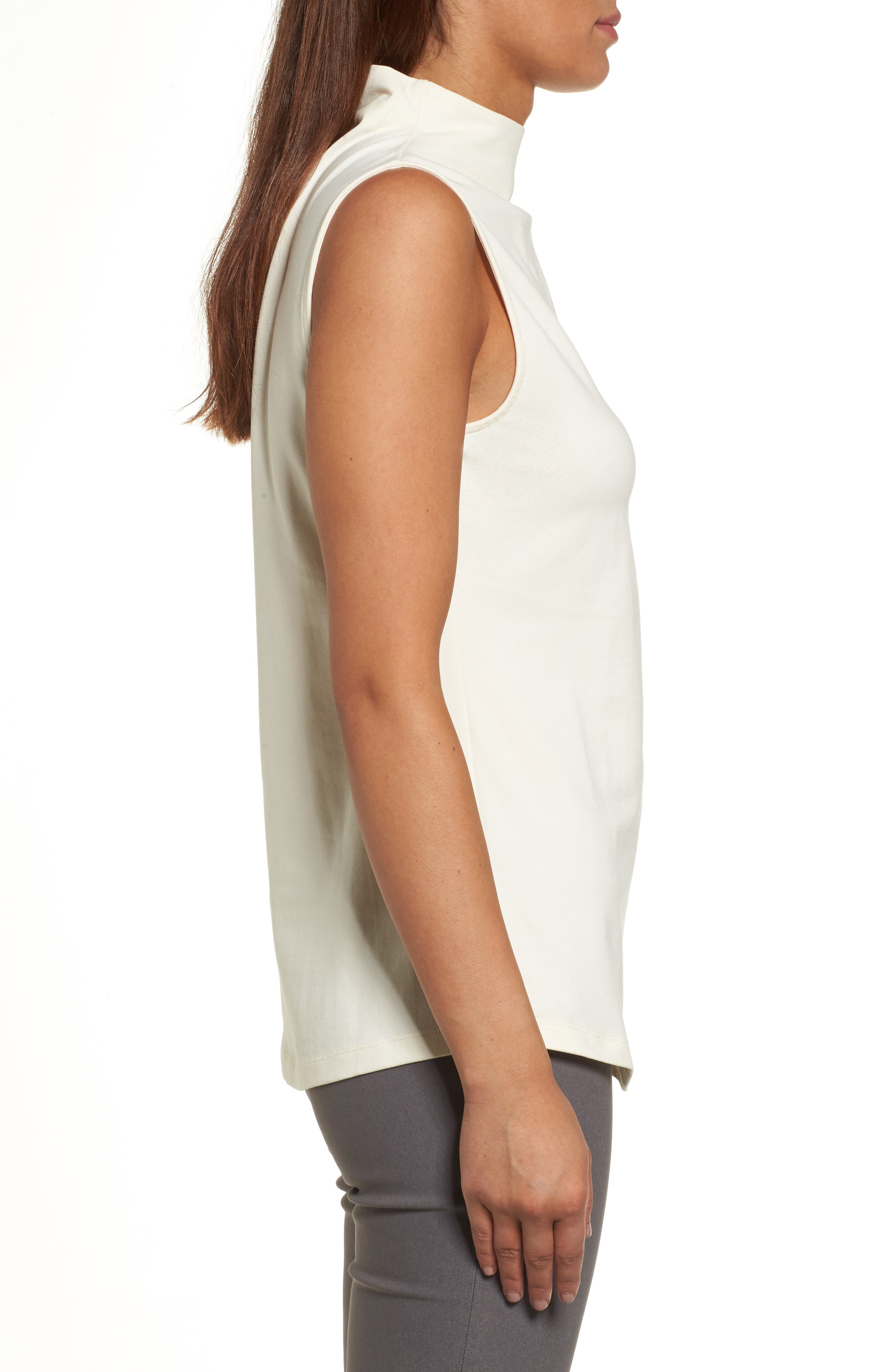 The Perfect Mock Neck Top,                             Alternate thumbnail 19, color,