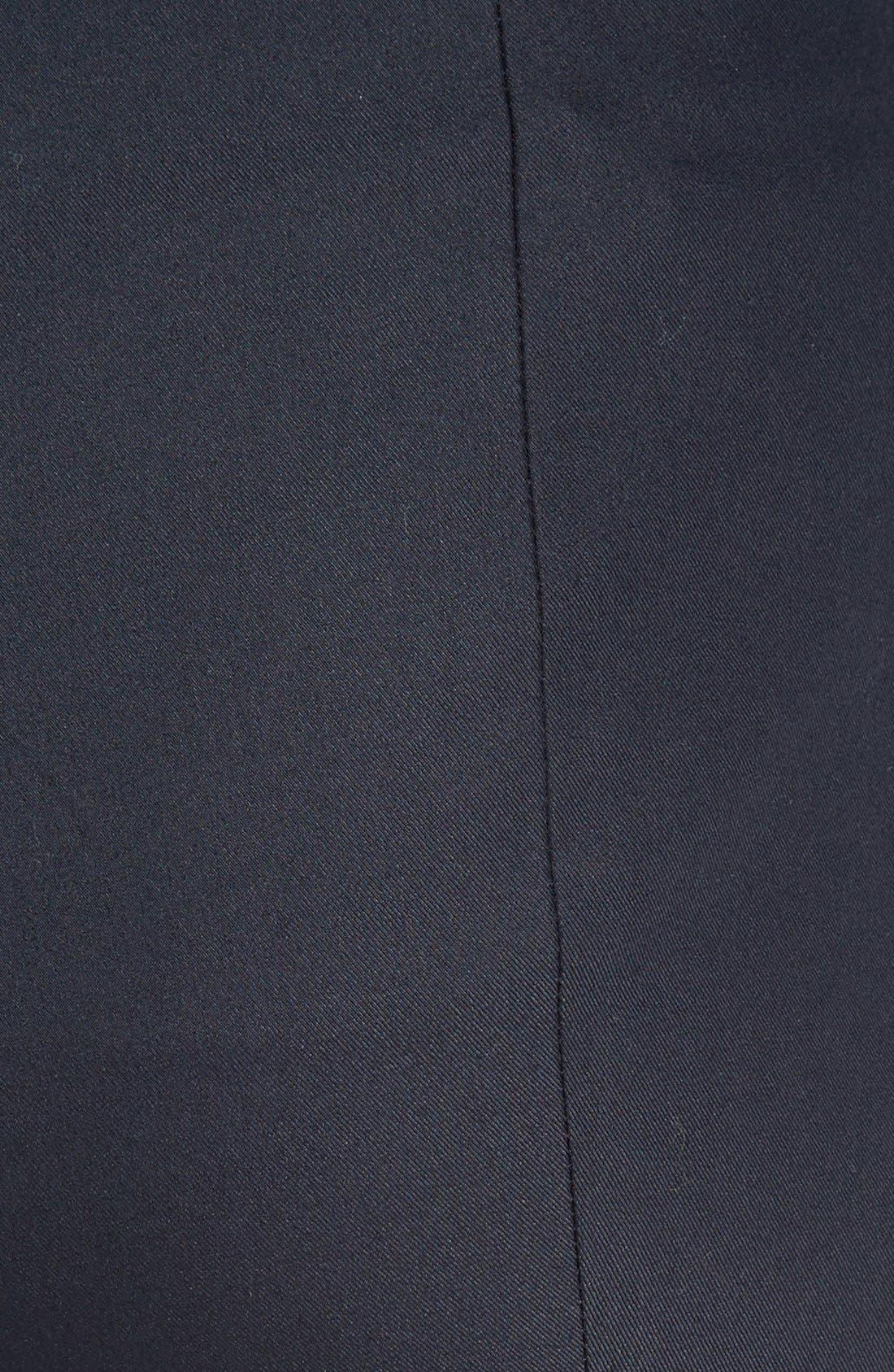Alettah Stretch Skinny Pants,                             Alternate thumbnail 7, color,                             001
