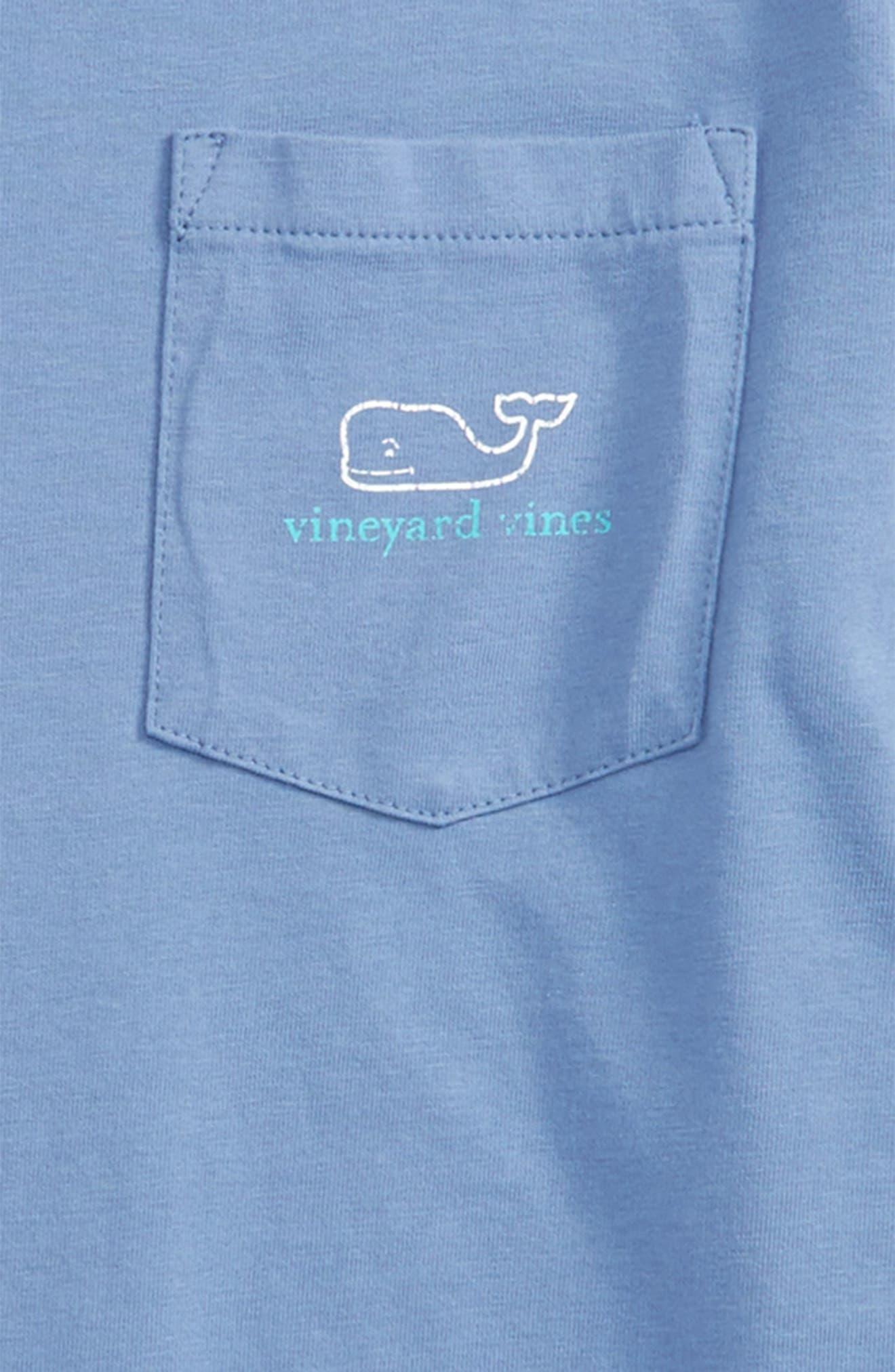 Vintage Whale Long Sleeve Pocket T-Shirt,                             Alternate thumbnail 16, color,