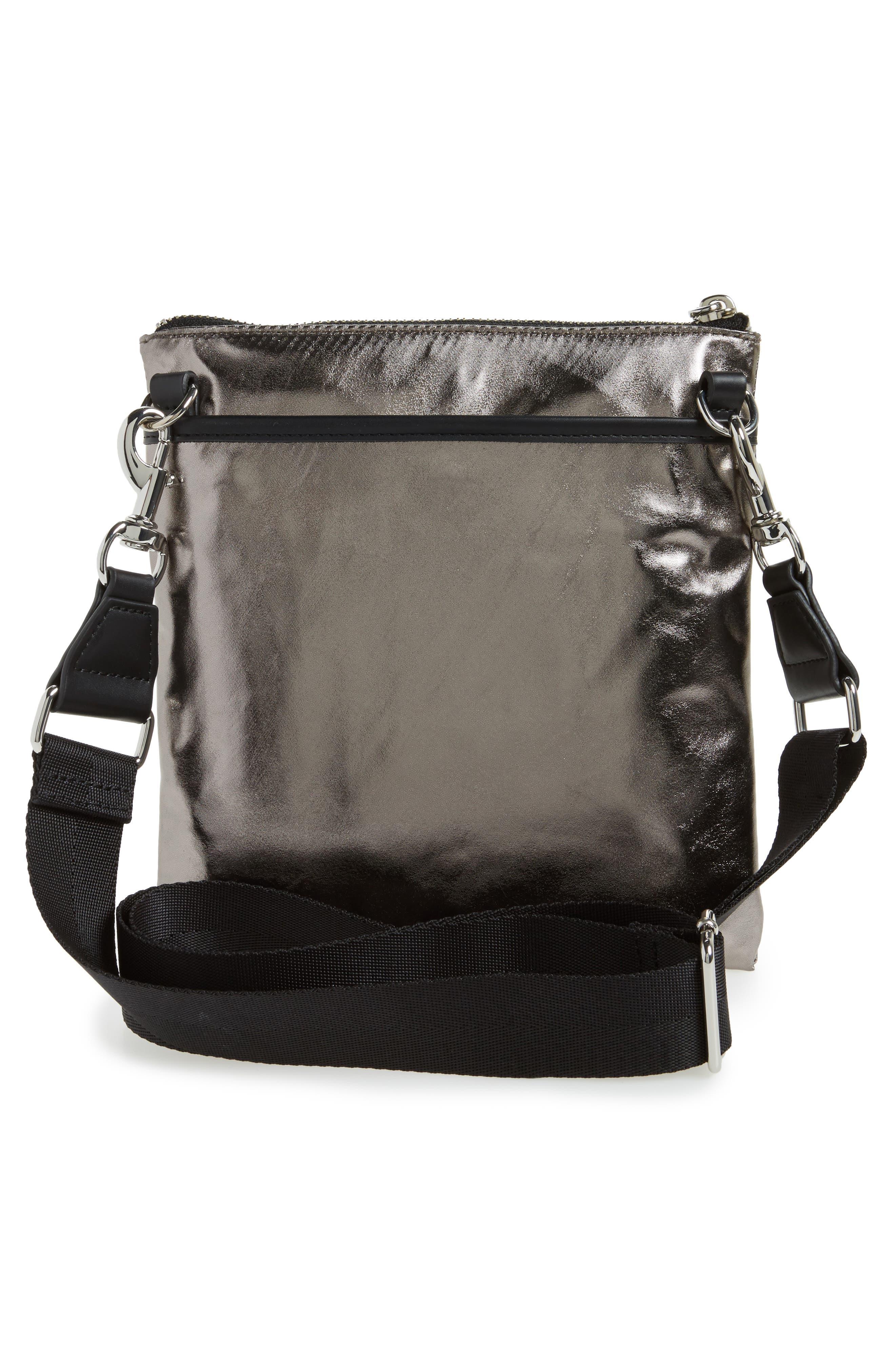 Nylon Flap Crossbody Bag,                             Alternate thumbnail 15, color,