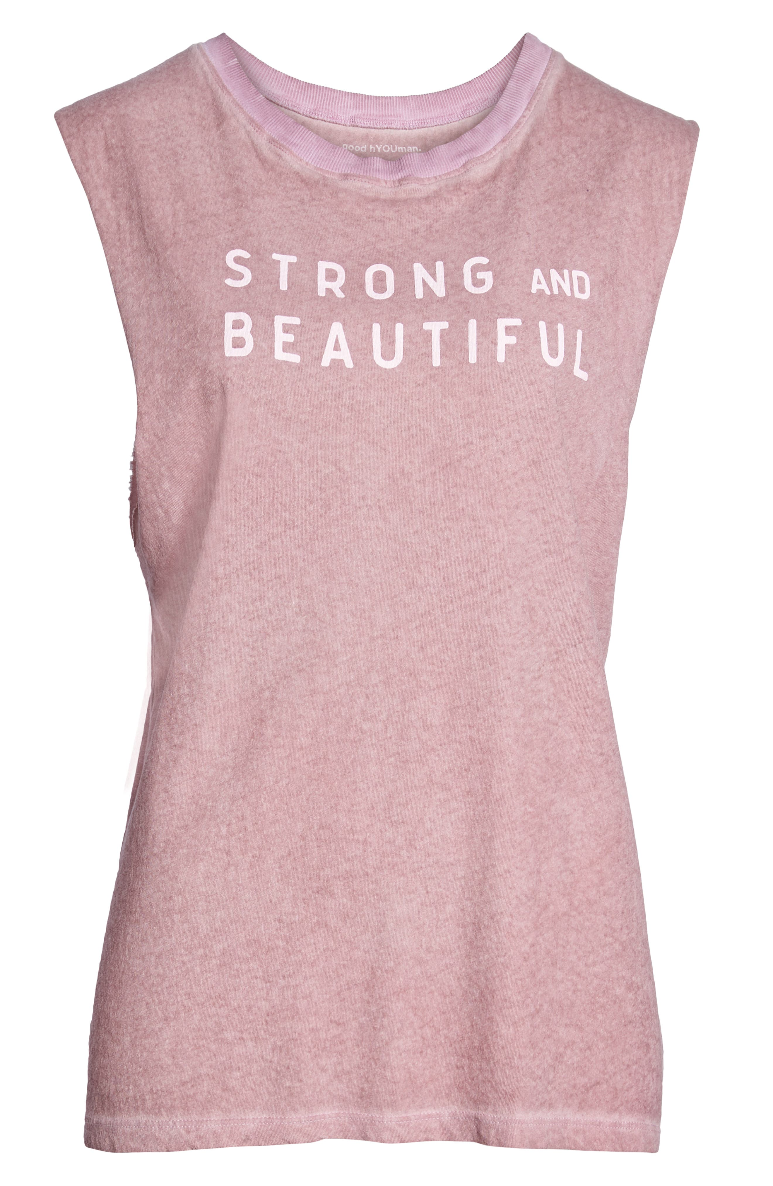Strong and Beautiful Muscle Tank,                             Alternate thumbnail 7, color,                             ANTIQUE DUSTY ROSE