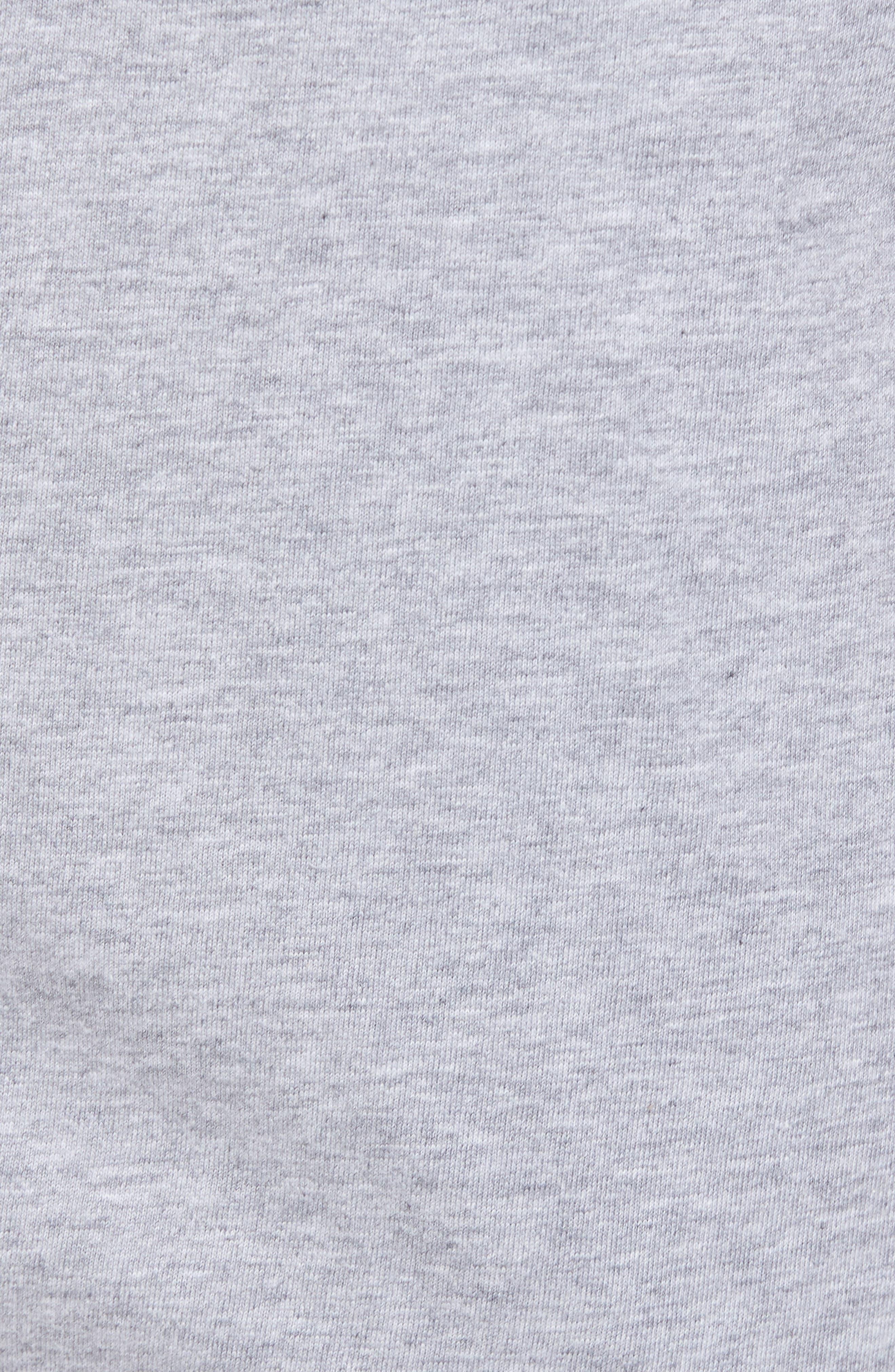Night & Day Knit Shorts,                             Alternate thumbnail 5, color,                             SILVER MELANGE