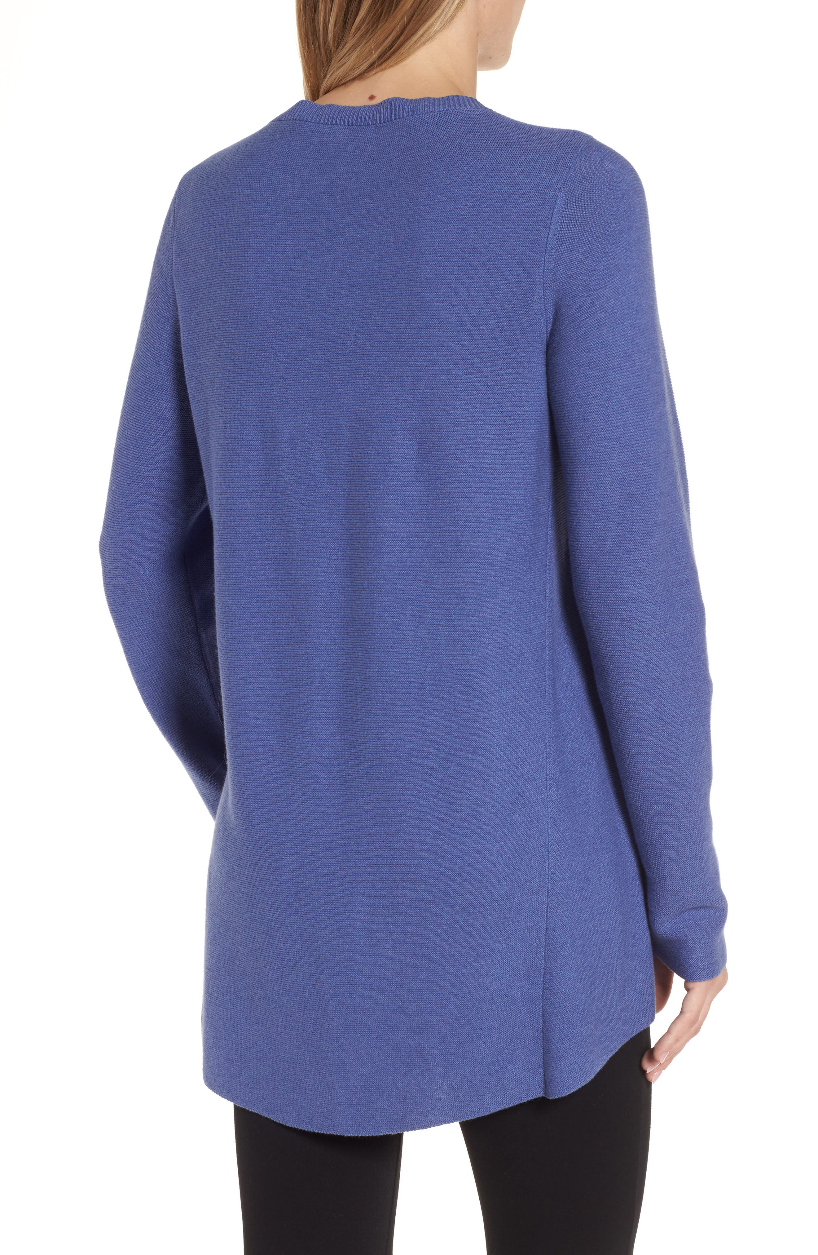 Organic Cotton Tunic Sweater,                             Alternate thumbnail 5, color,