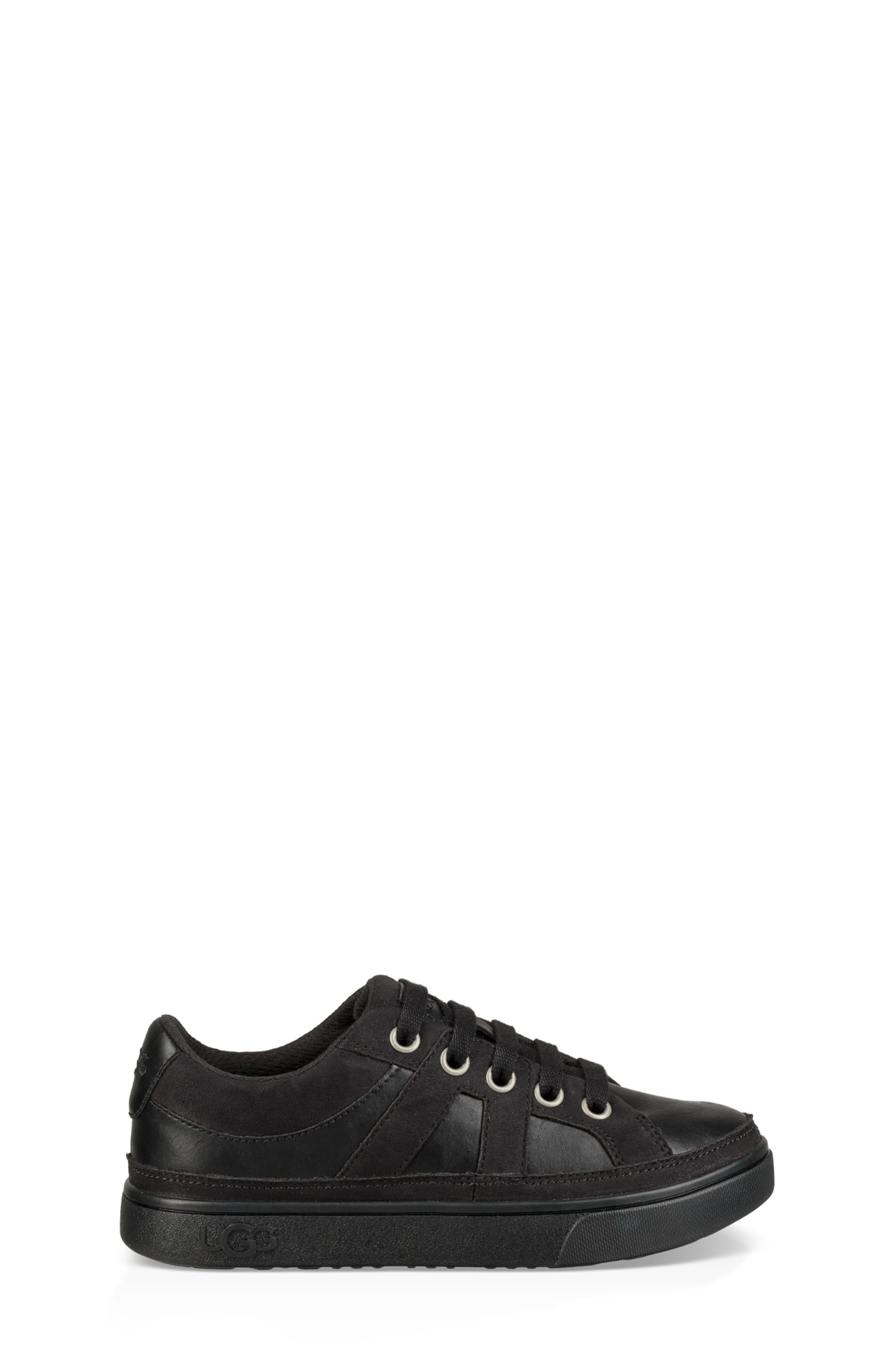 UGG<SUP>®</SUP>,                             Marcus Sneaker,                             Alternate thumbnail 3, color,                             BLACK