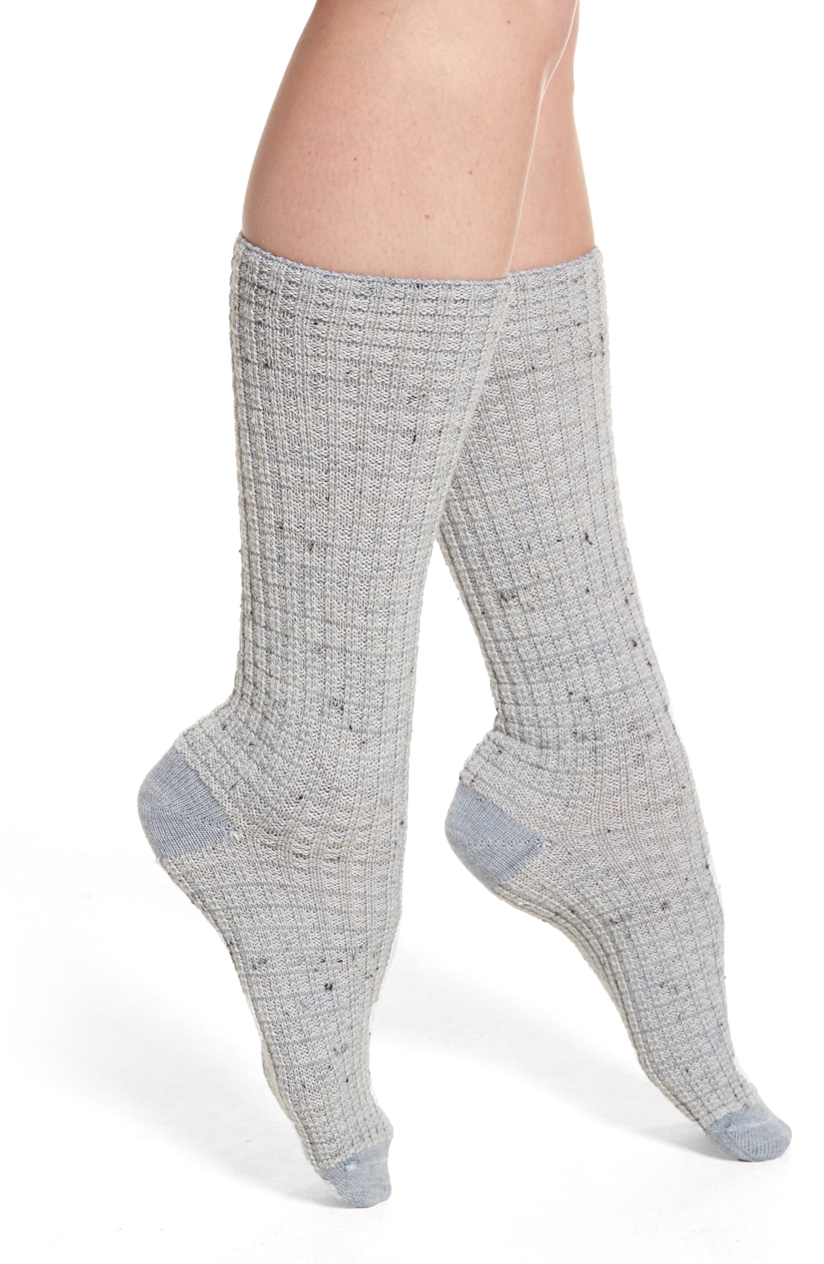 Broadmoore Marled Boot Socks,                             Main thumbnail 1, color,                             400