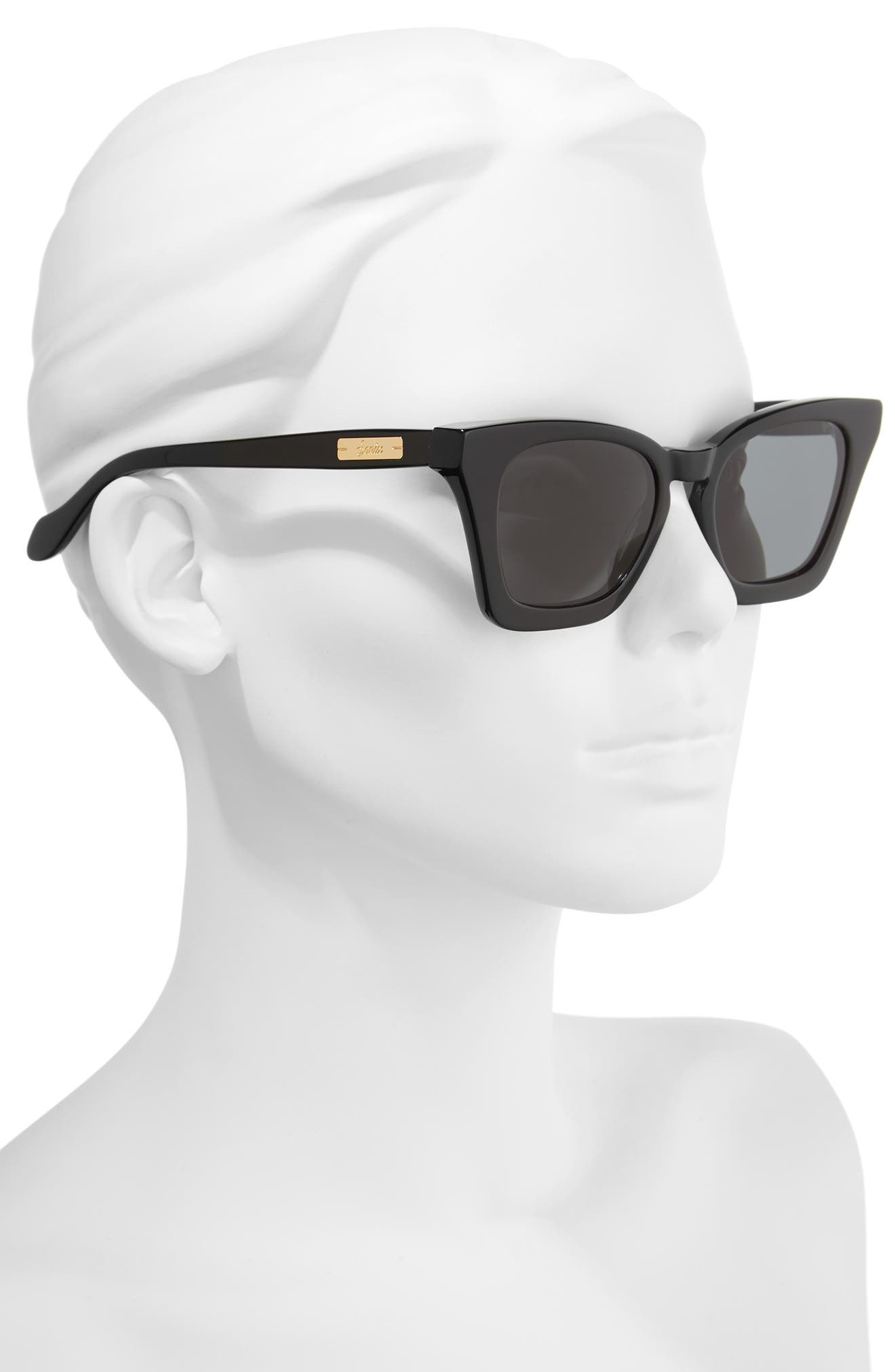 Ginza 50mm Cat Eye Sunglasses,                             Alternate thumbnail 2, color,                             001