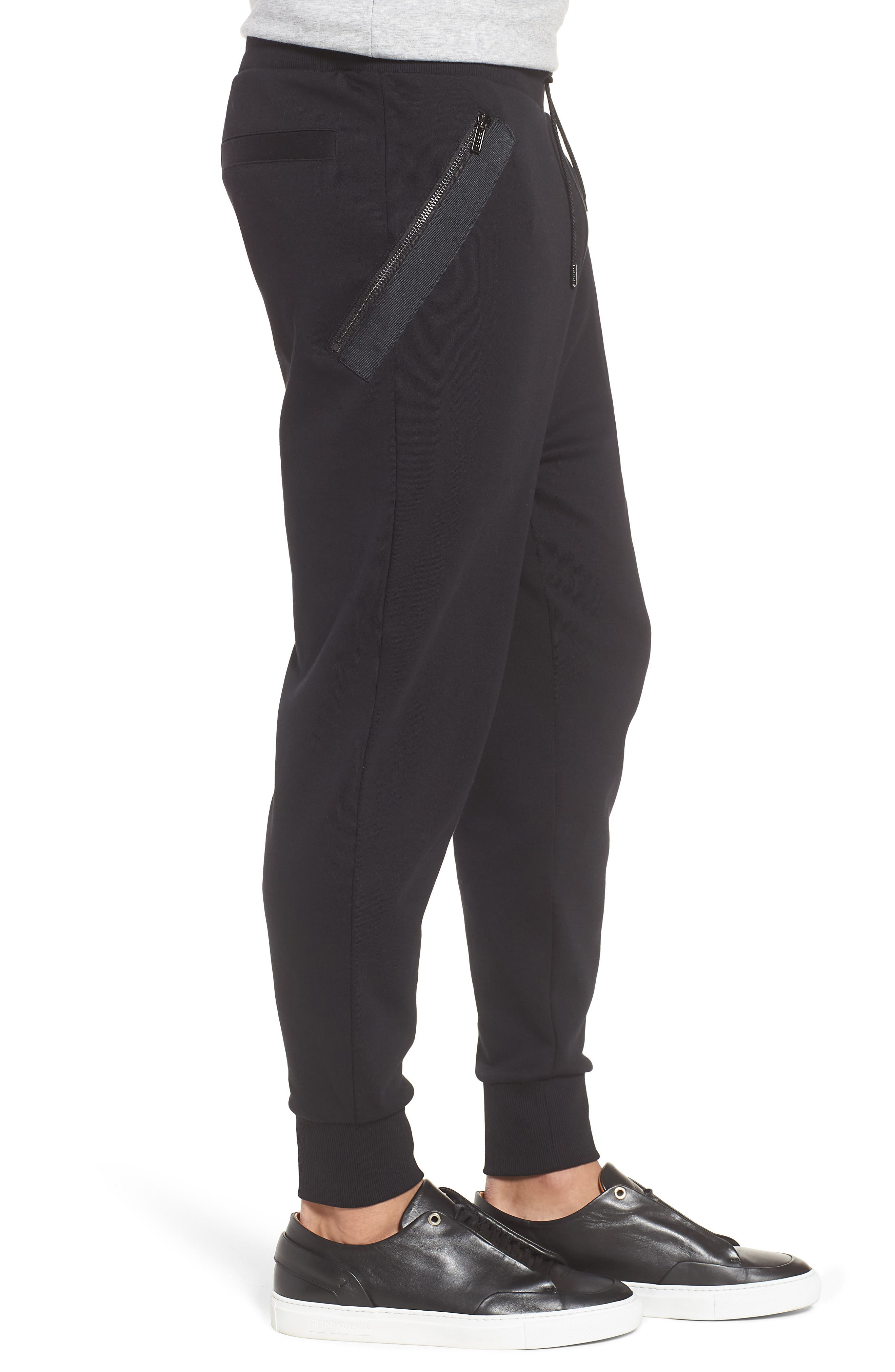 Daring Relaxed Fit Sweatpants,                             Alternate thumbnail 3, color,                             001
