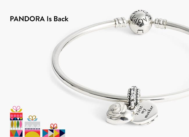 PANDORA gifts for the holidays.