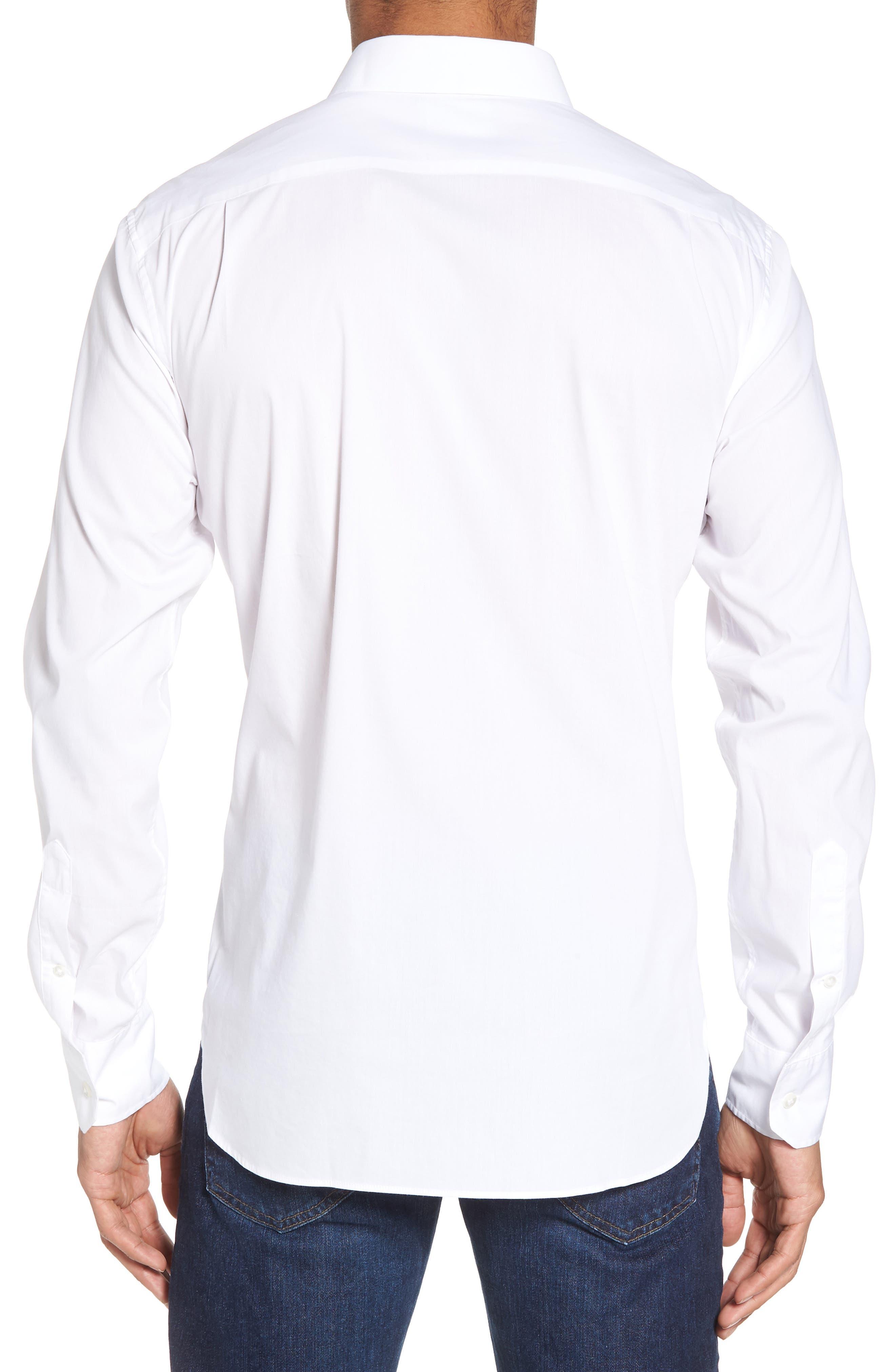 Unbutton Down 2.0 Slim Fit Sport Shirt,                             Alternate thumbnail 6, color,