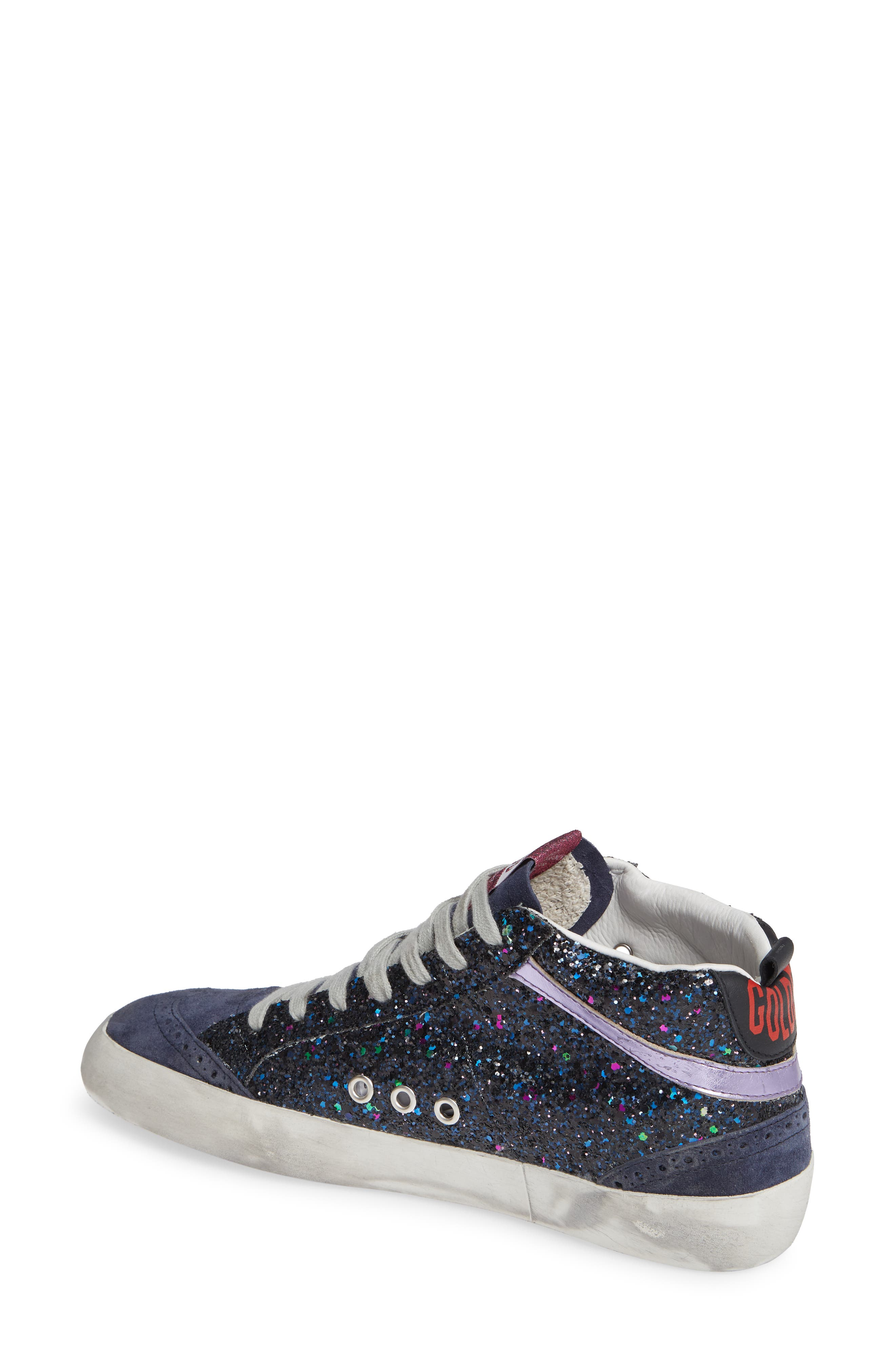 Mid Star Glitter Sneaker,                             Alternate thumbnail 2, color,                             400
