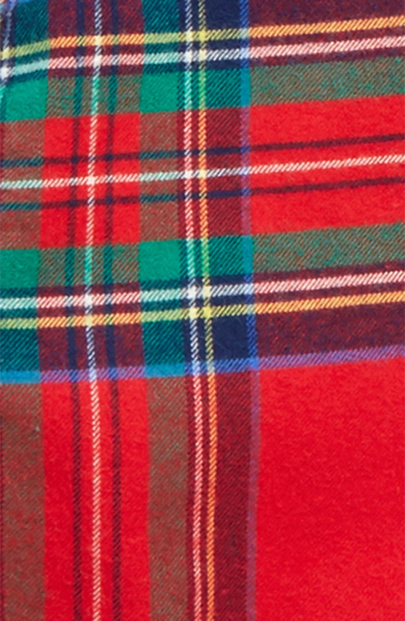 Jolly Plaid Whale Flannel Shirt,                             Alternate thumbnail 2, color,                             634