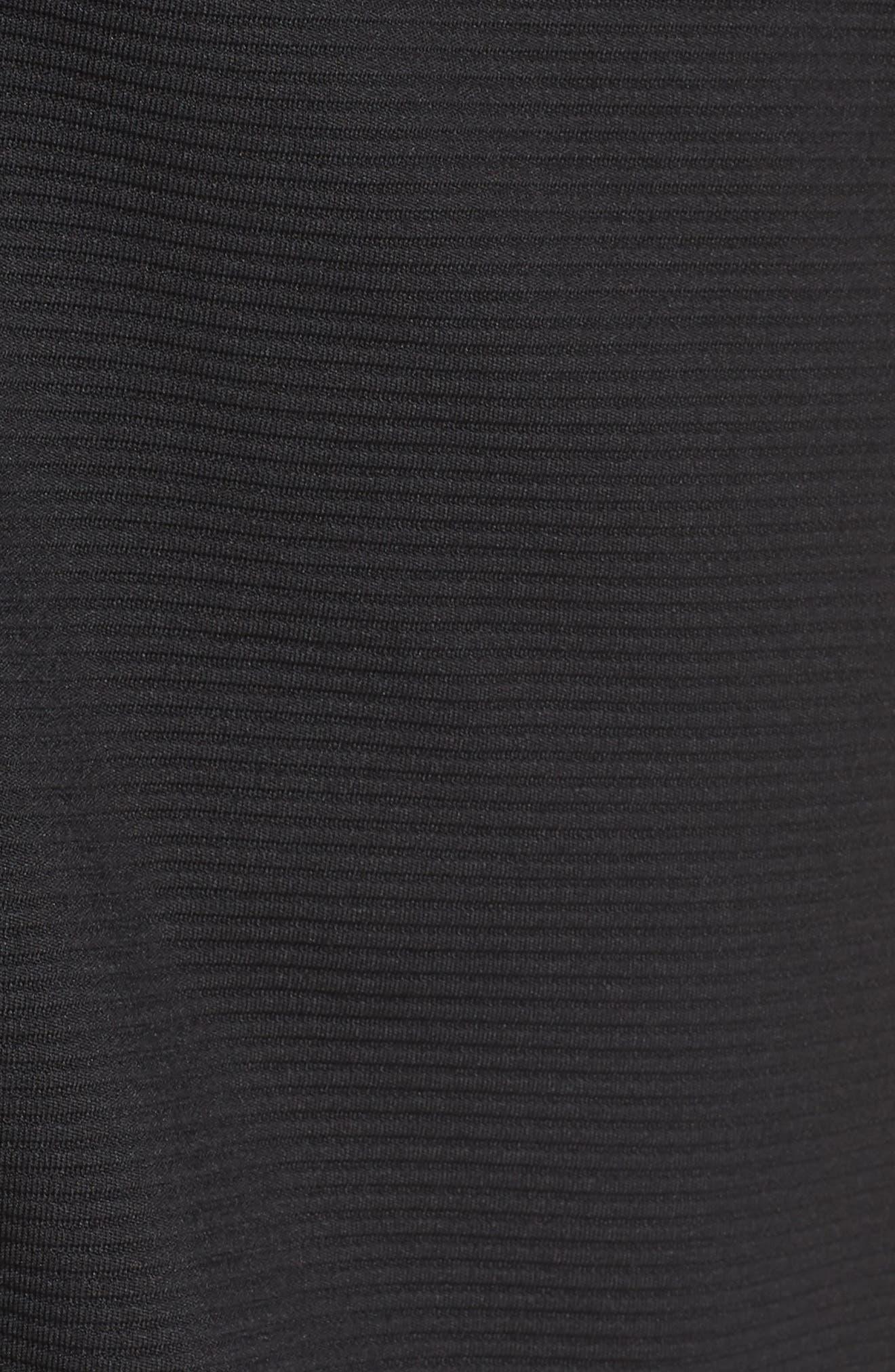 The Lacquer Bonded Jersey Kimono,                             Alternate thumbnail 6, color,                             001