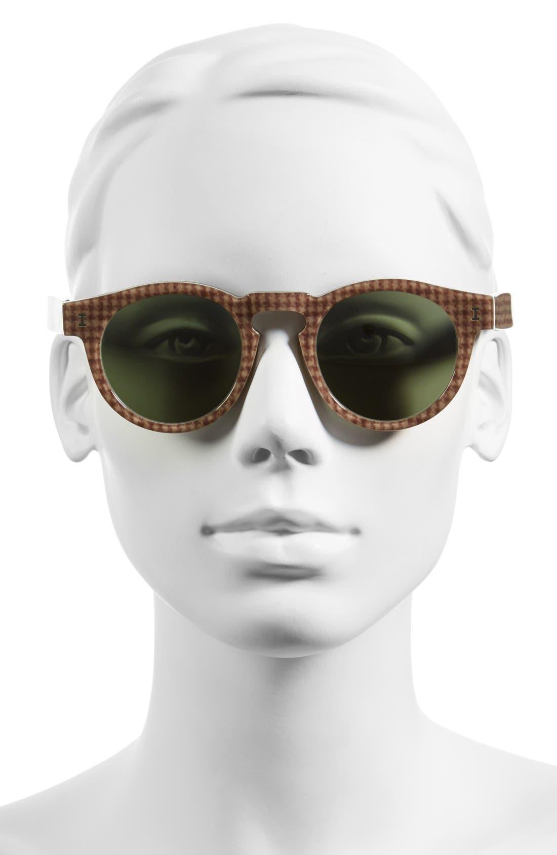 'Leonard' 47mm Sunglasses,                             Alternate thumbnail 112, color,