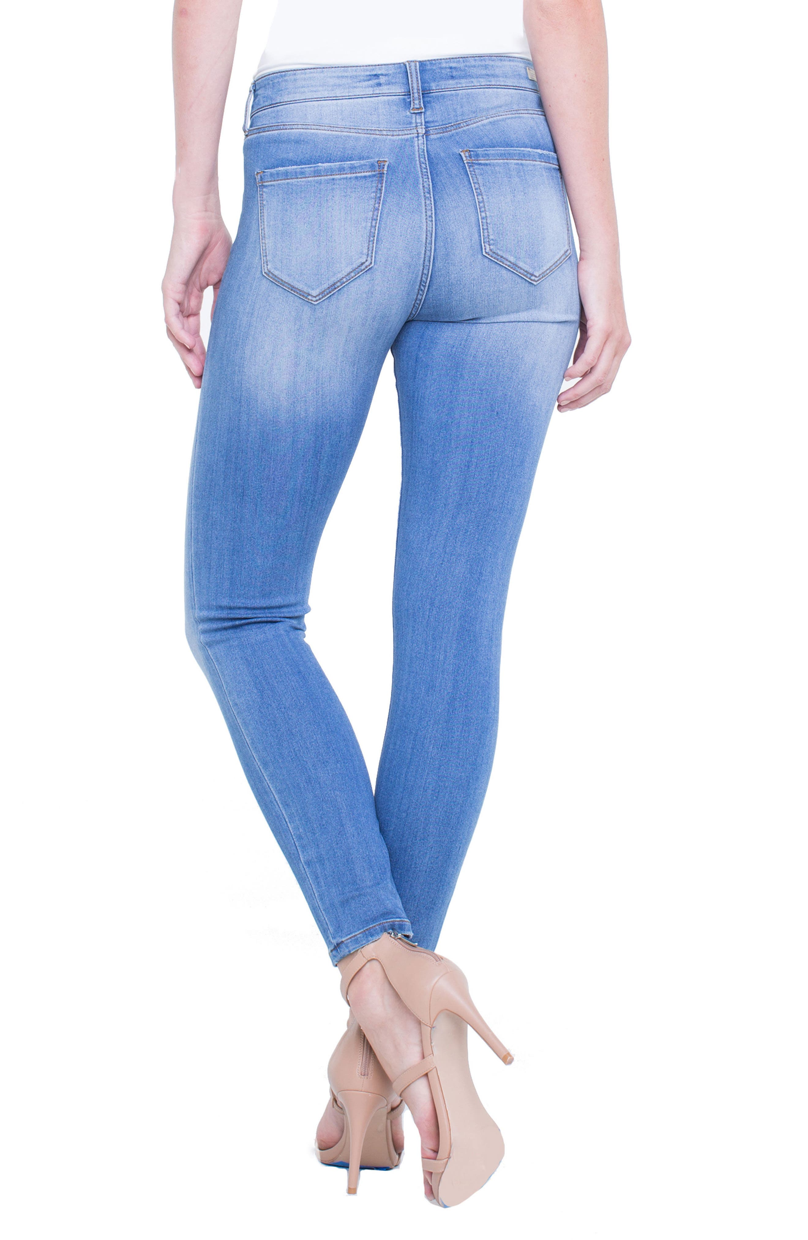 Penny Ankle Skinny Jeans,                             Alternate thumbnail 9, color,