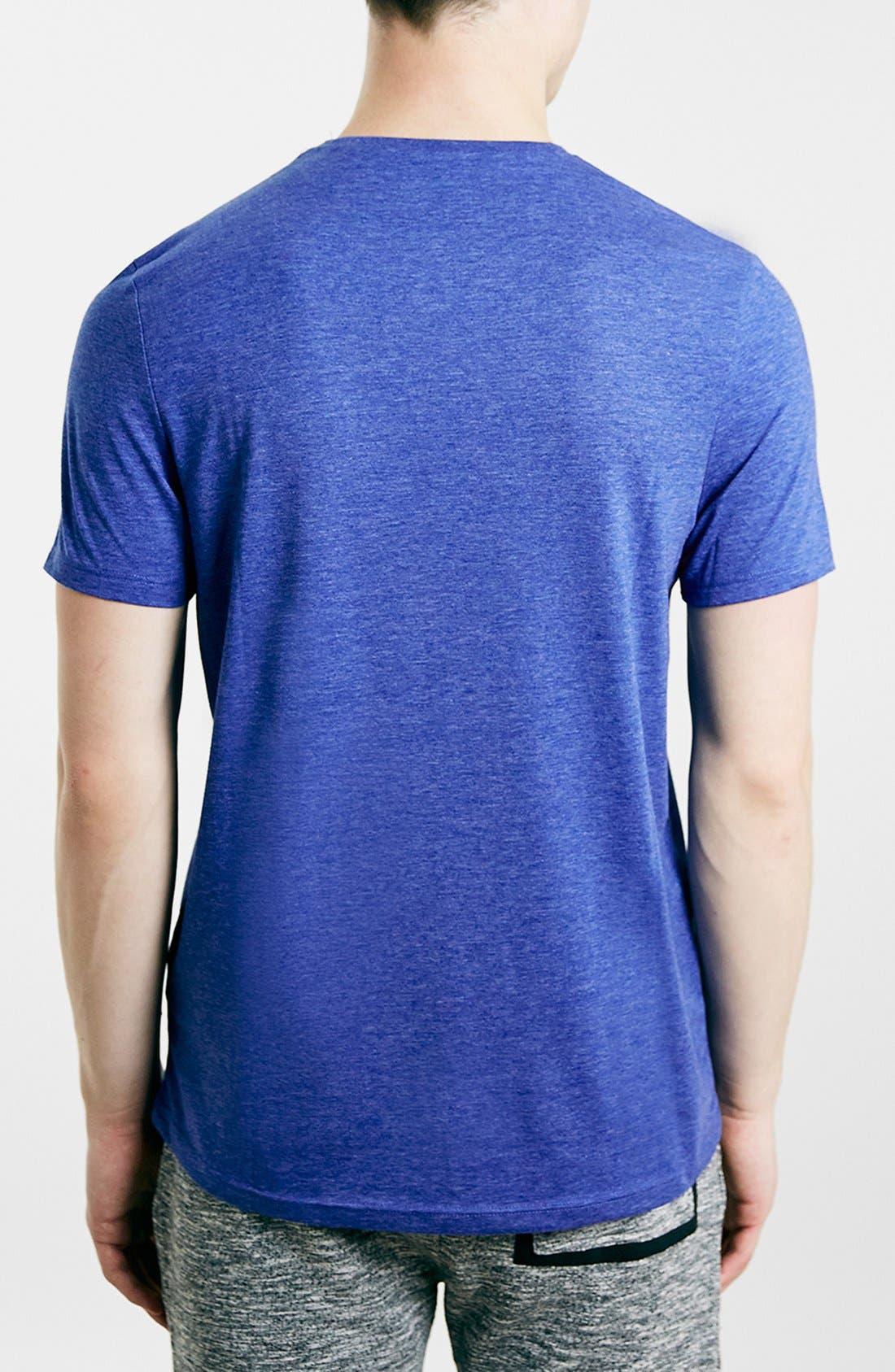 Slim Fit Crewneck T-Shirt,                             Alternate thumbnail 348, color,