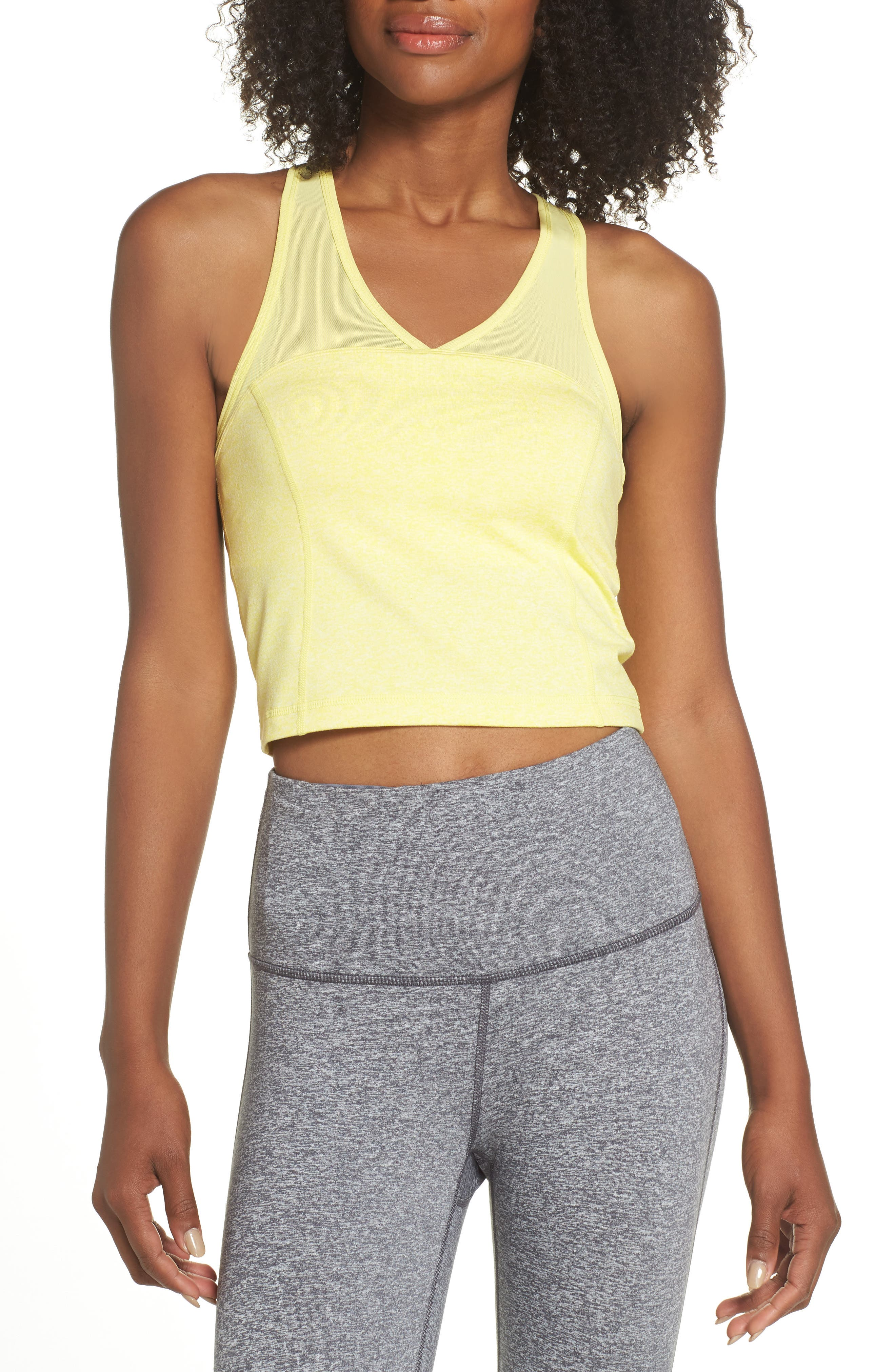 Vivian Recycled Crop Tank,                         Main,                         color, 740
