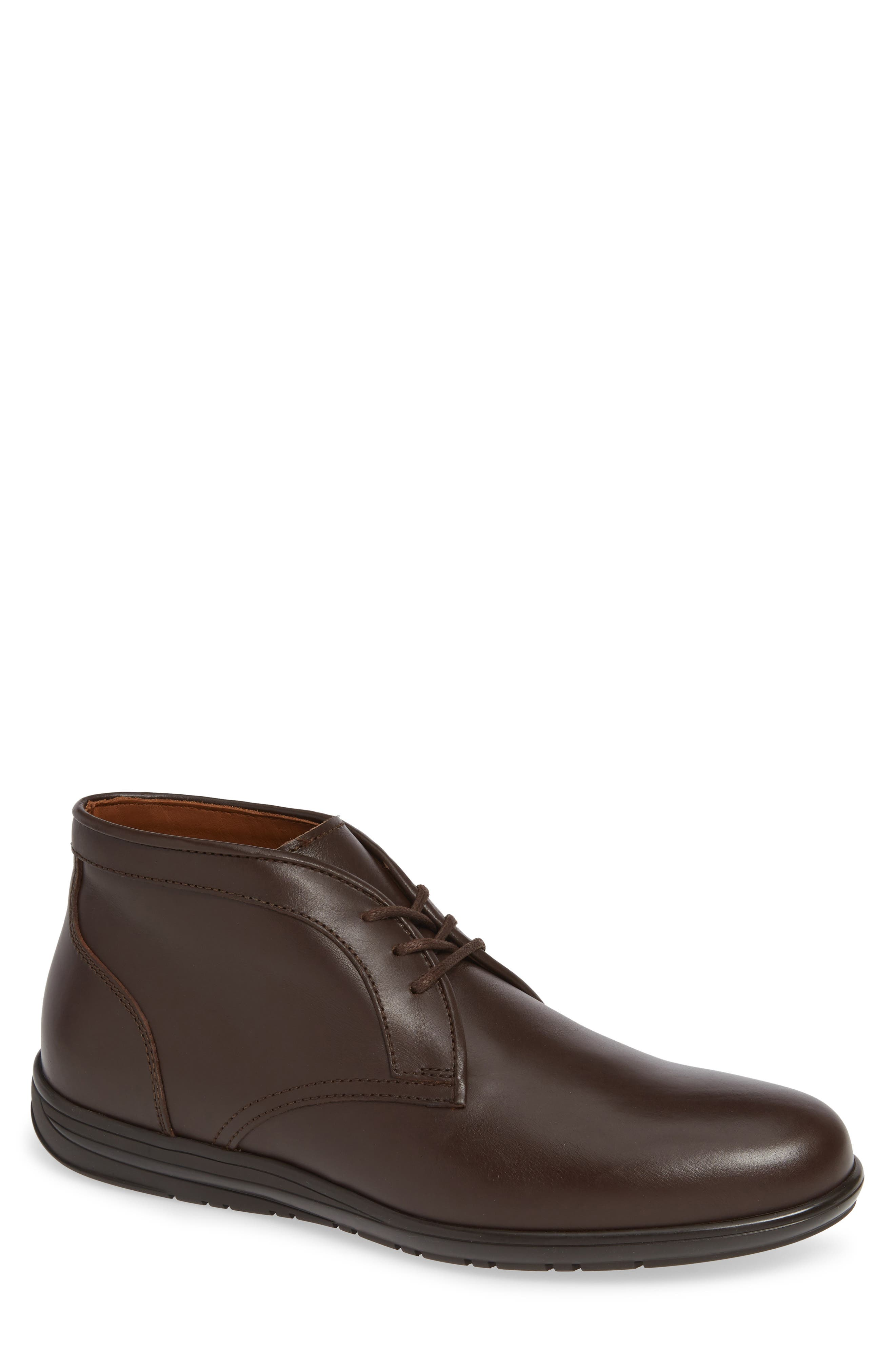 Aquatalia Nicholas Weatherproof Chukka Boot- Brown