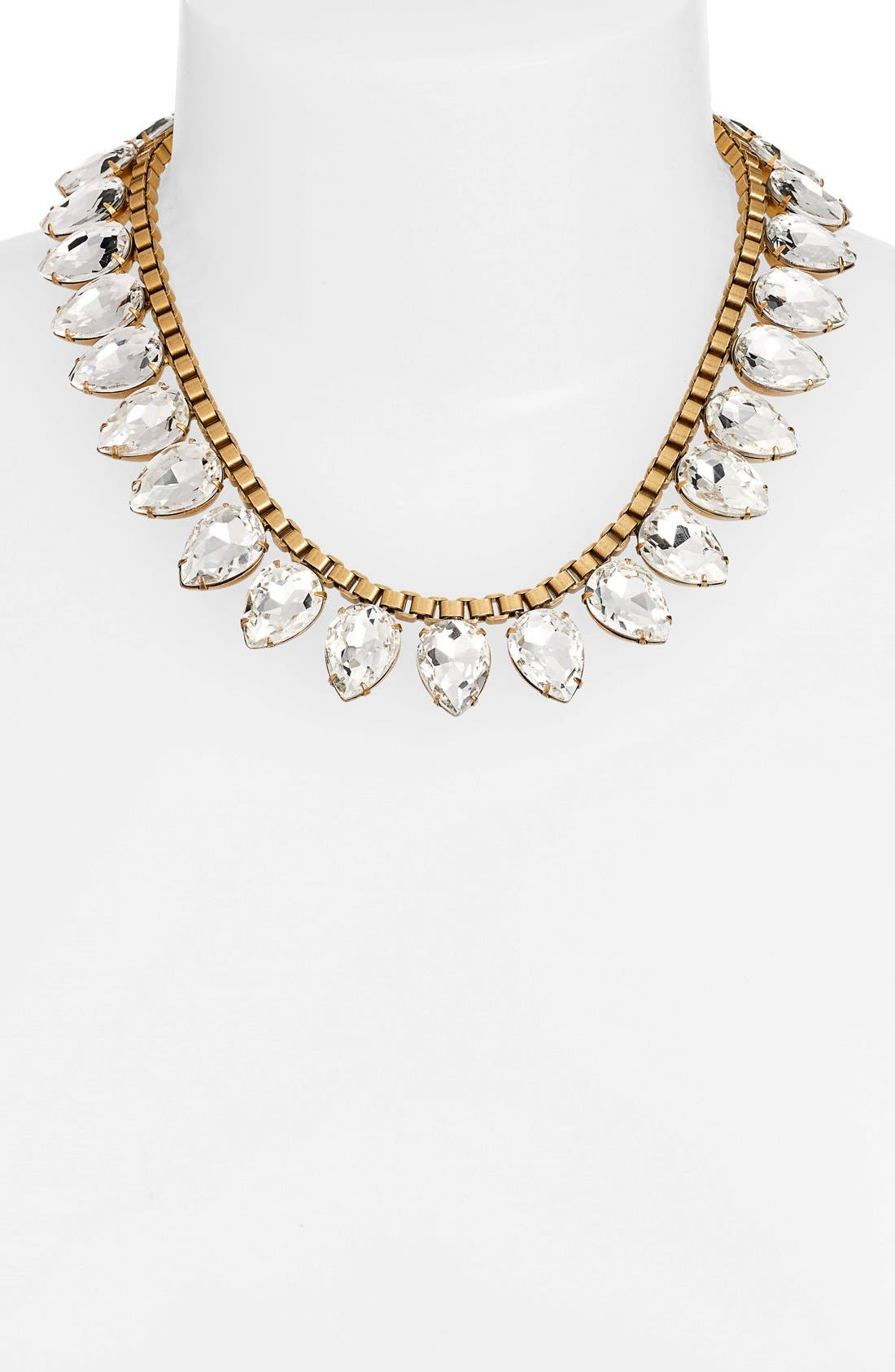 'Sylvia' Crystal Collar Necklace,                             Alternate thumbnail 12, color,