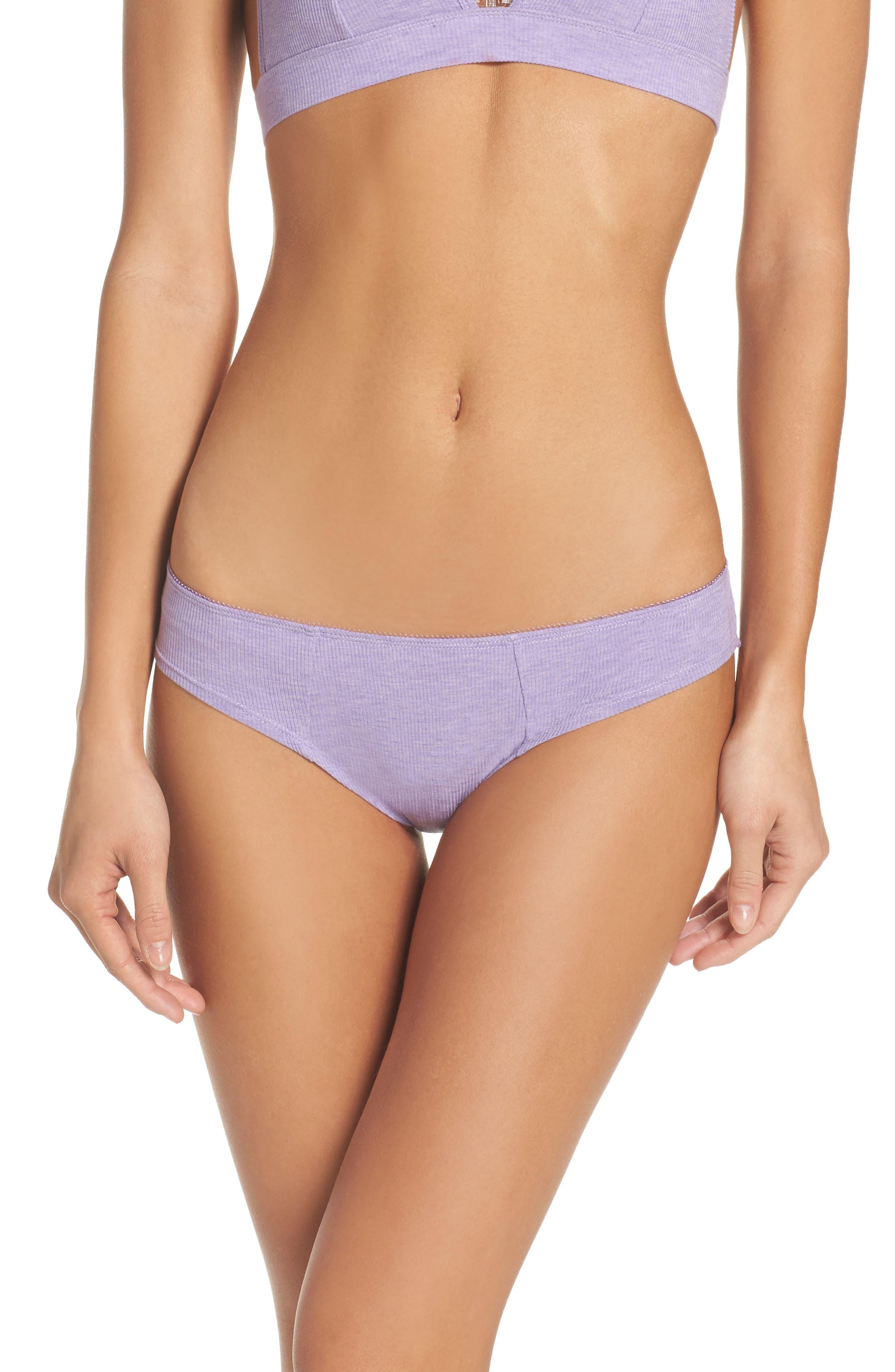 Rib Knit Bikini,                             Main thumbnail 3, color,