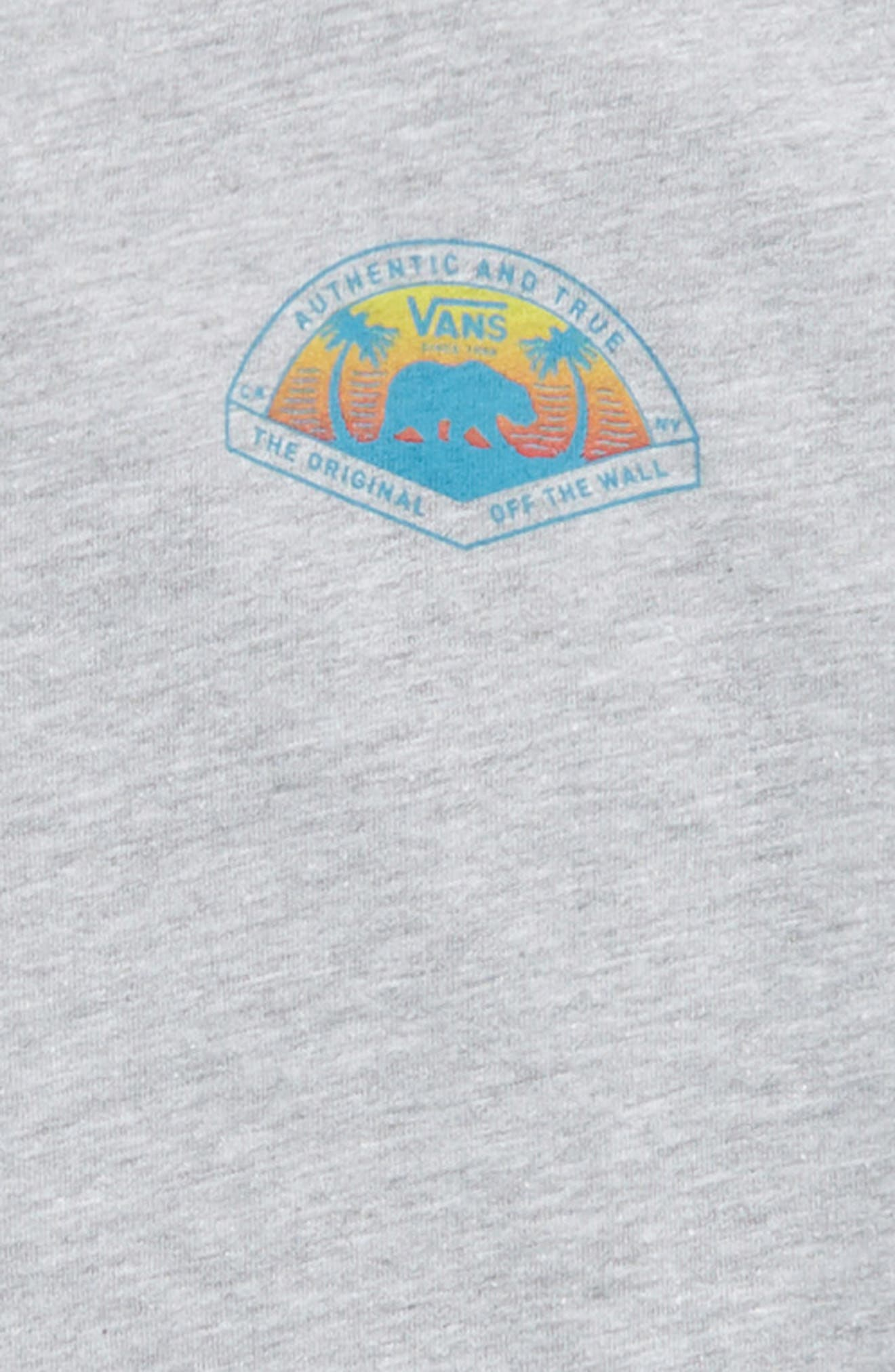 Grizzly Beach Graphic T-Shirt,                             Alternate thumbnail 5, color,