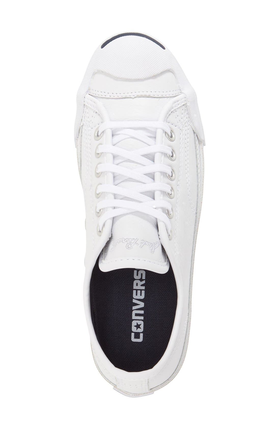 'Jack Purcell' Low Top Sneaker,                             Alternate thumbnail 3, color,                             100