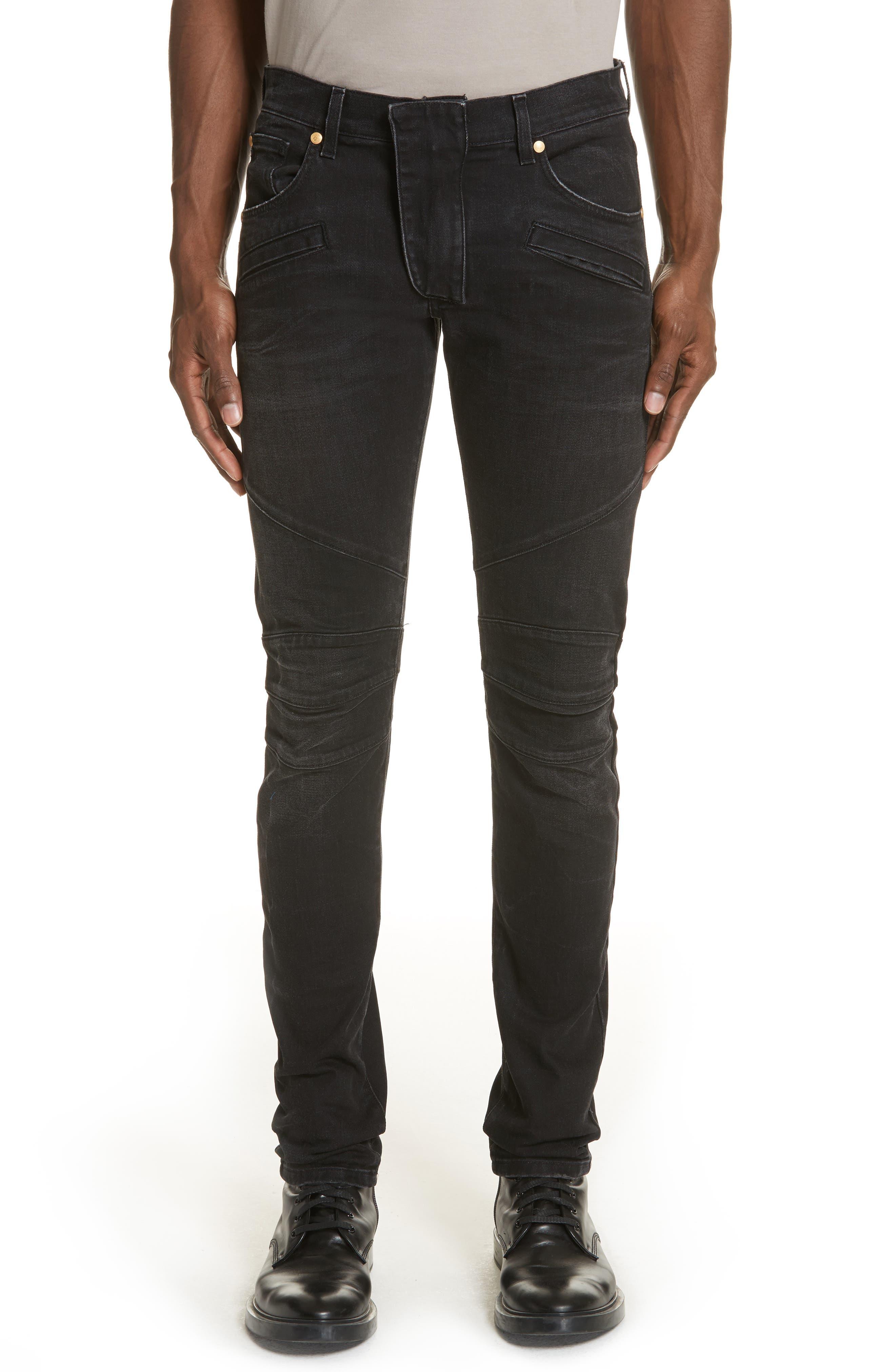 Biker Jeans,                         Main,                         color, 001