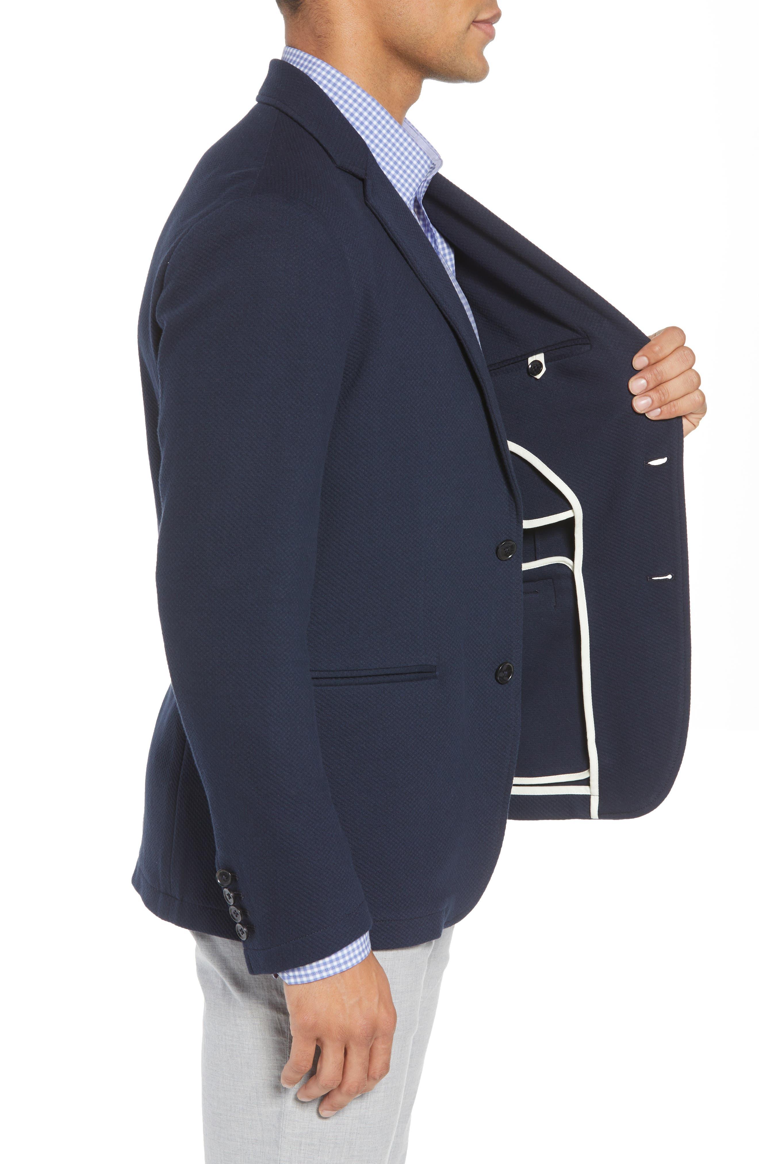 Baylor Regular Fit Knit Sport Coat,                             Alternate thumbnail 3, color,                             410