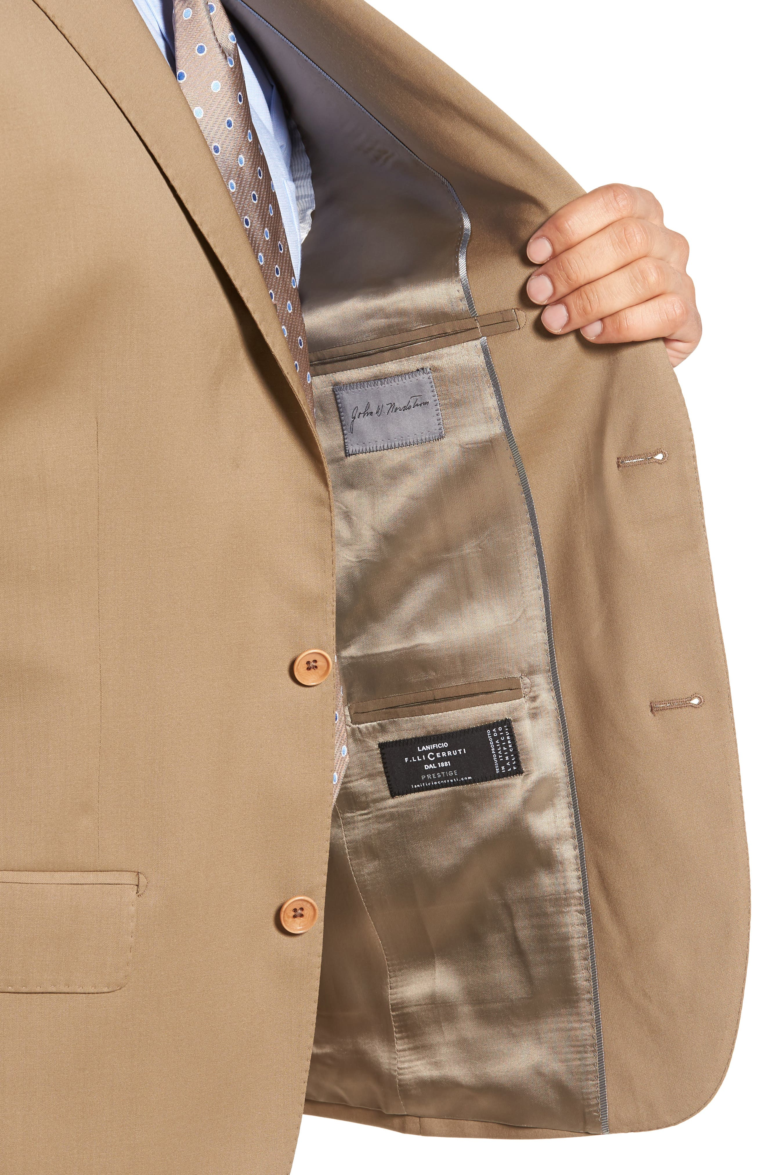 Classic Fit Solid Wool Suit,                             Alternate thumbnail 22, color,
