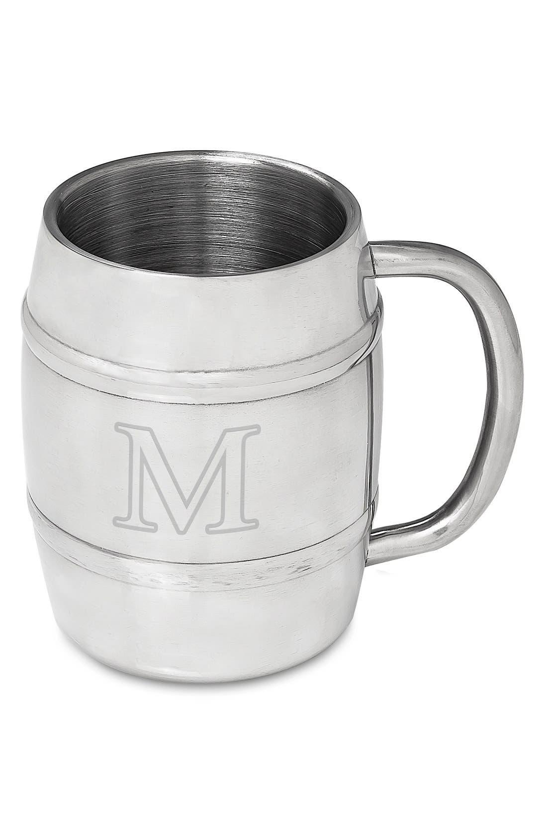 Monogram Stainless Steel Keg Mug,                             Main thumbnail 15, color,
