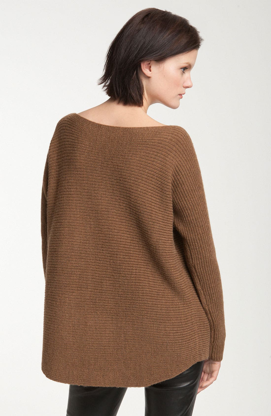 Ribbed Boatneck Sweater,                             Alternate thumbnail 3, color,                             200