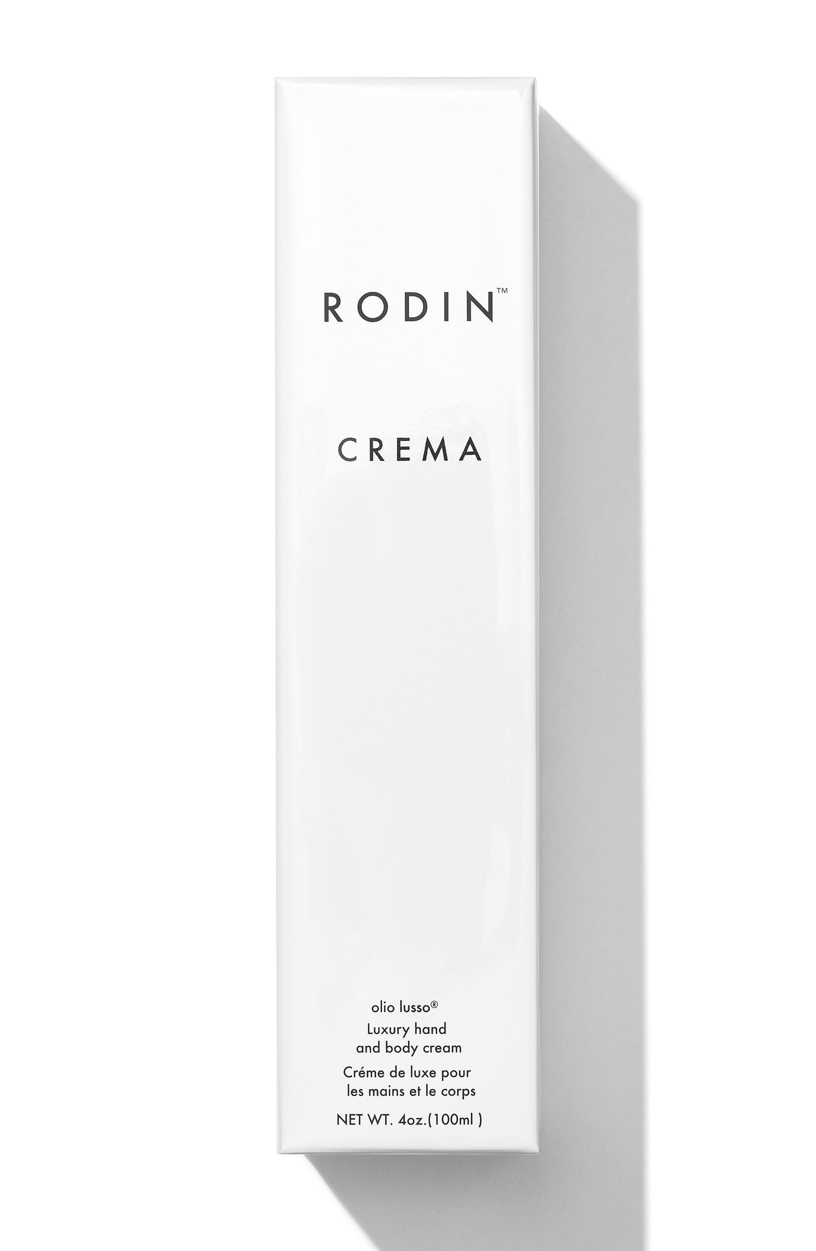 RODIN OLIO LUSSO,                             Crema Luxury Hand and Body Cream,                             Alternate thumbnail 3, color,                             NO COLOR
