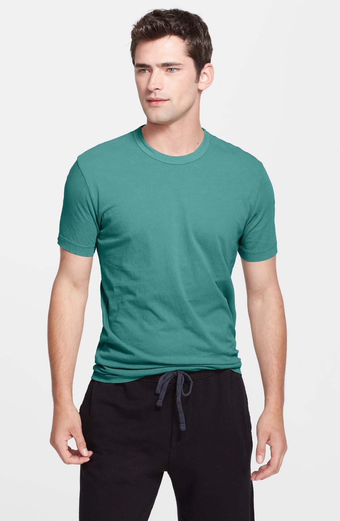 Crewneck Jersey T-Shirt,                             Main thumbnail 80, color,