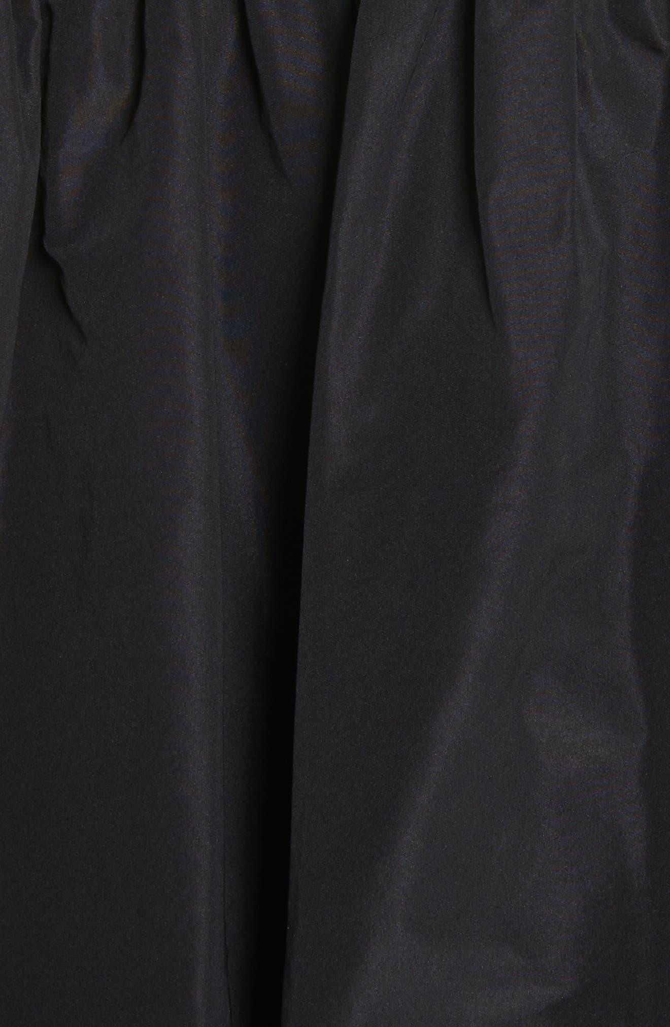 Pluto Taffeta Coat,                             Alternate thumbnail 6, color,                             001