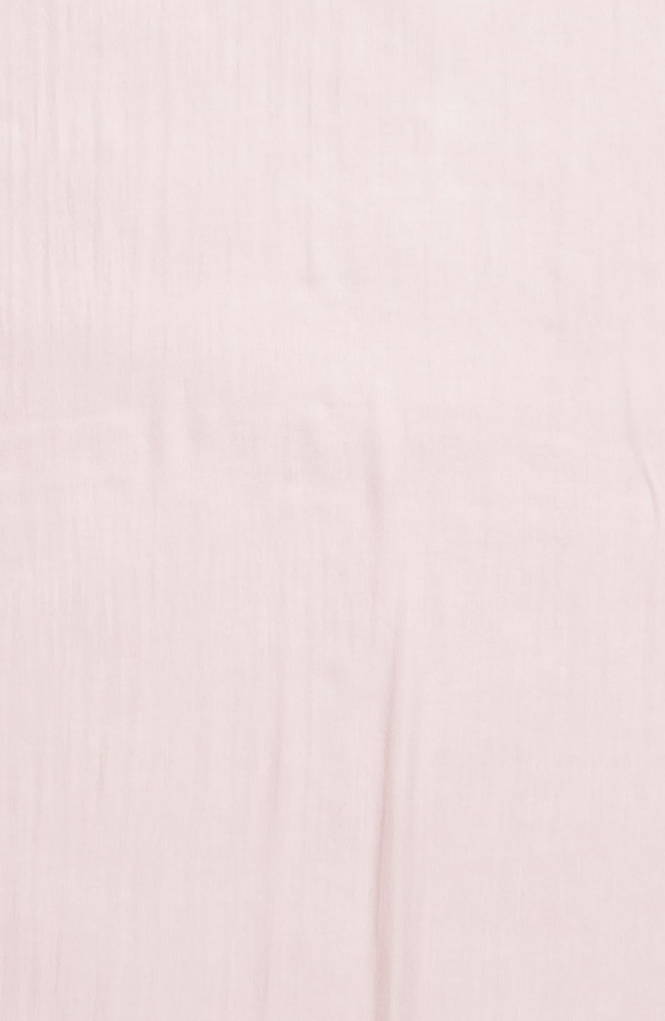 Lace Trim Scarf,                             Alternate thumbnail 4, color,
