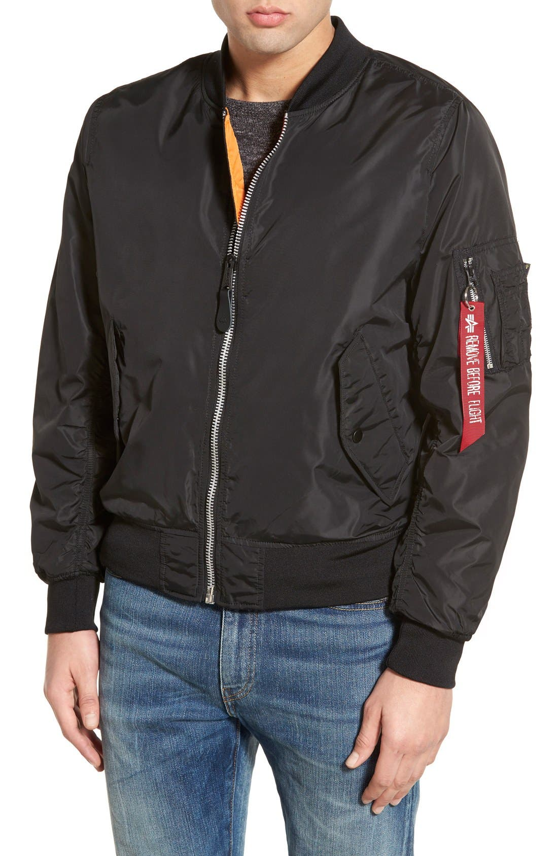 LB-2 Scout Reversible Flight Jacket,                             Main thumbnail 3, color,