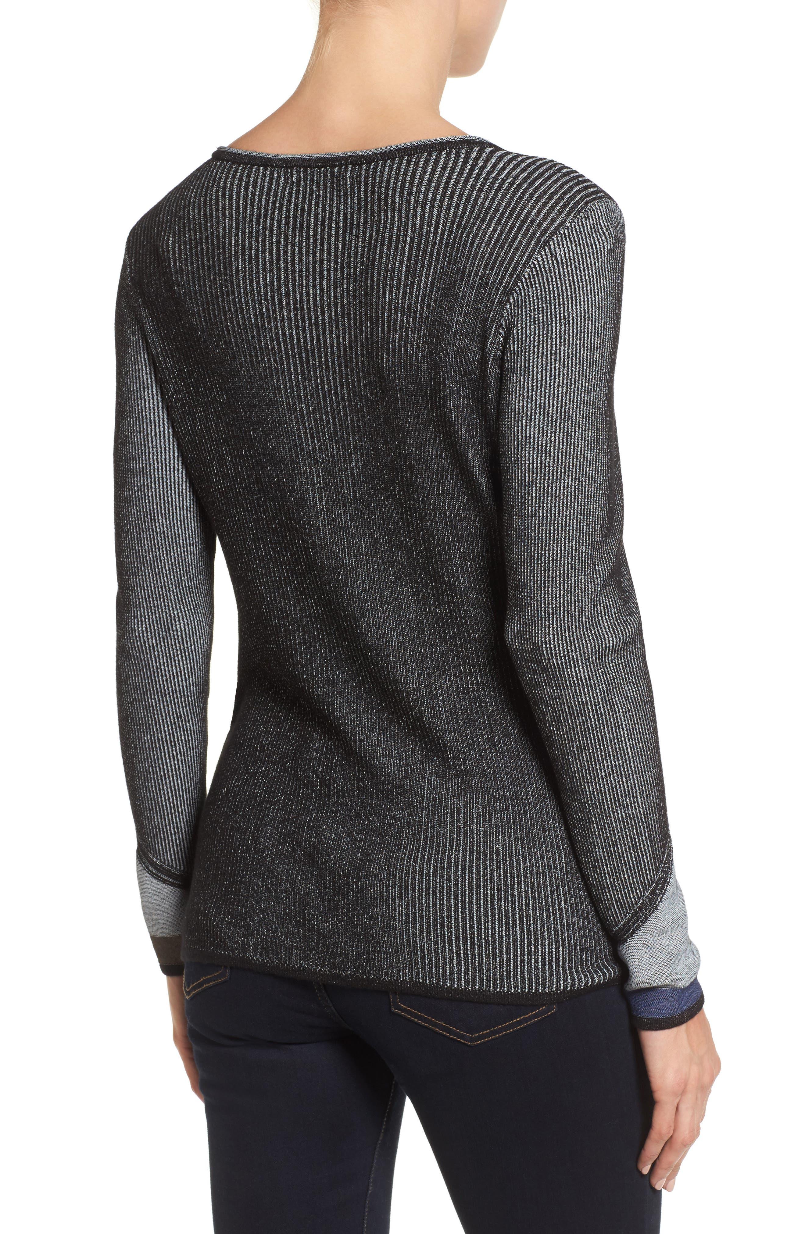 Blue Horizon Knit Top,                             Alternate thumbnail 2, color,                             499