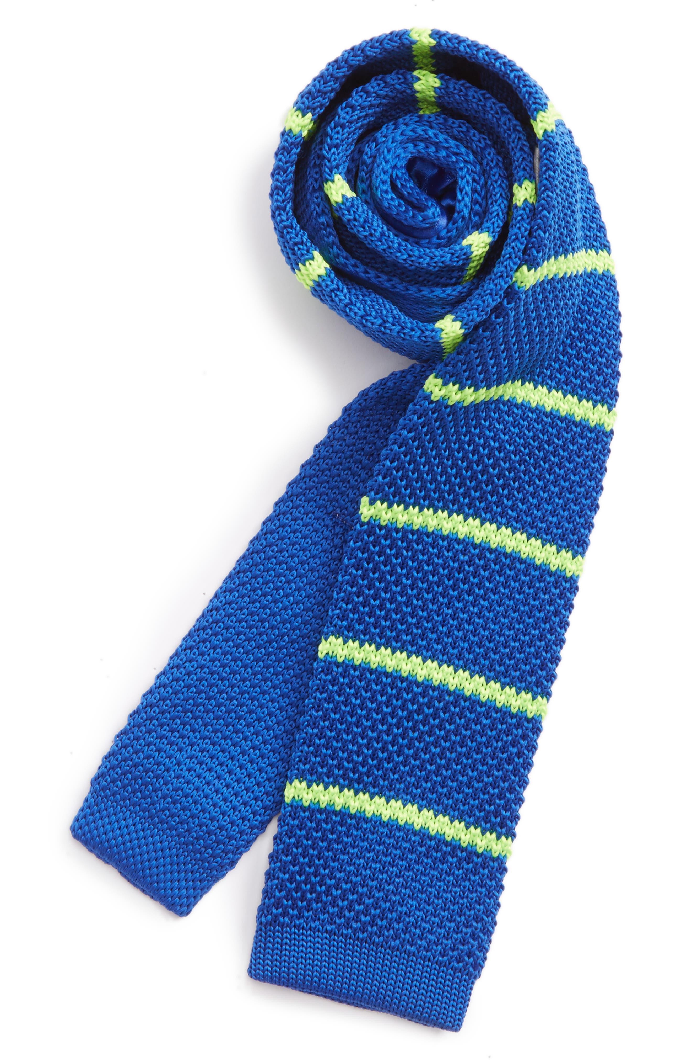 Knit Tie,                         Main,                         color, 322