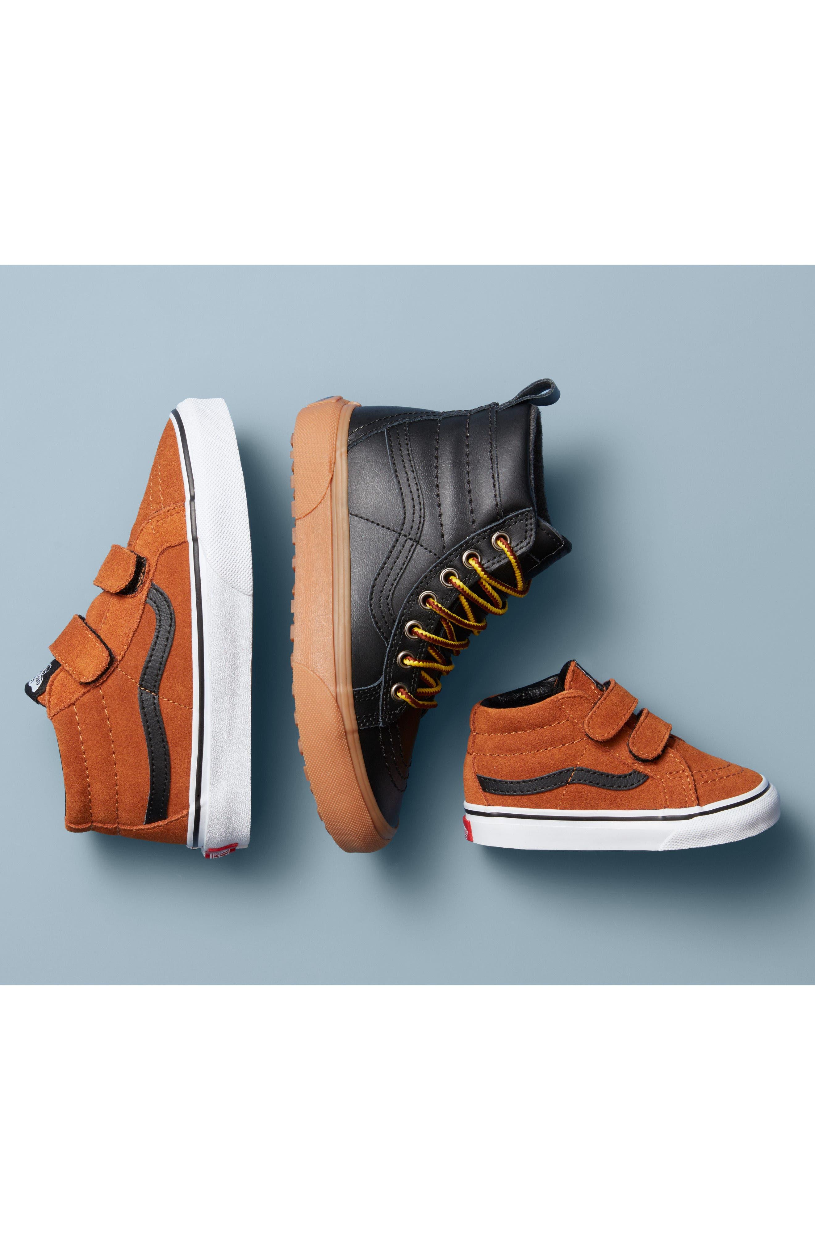 Toddler Vans Sk8Hi Sneaker Size 2 M  Grey