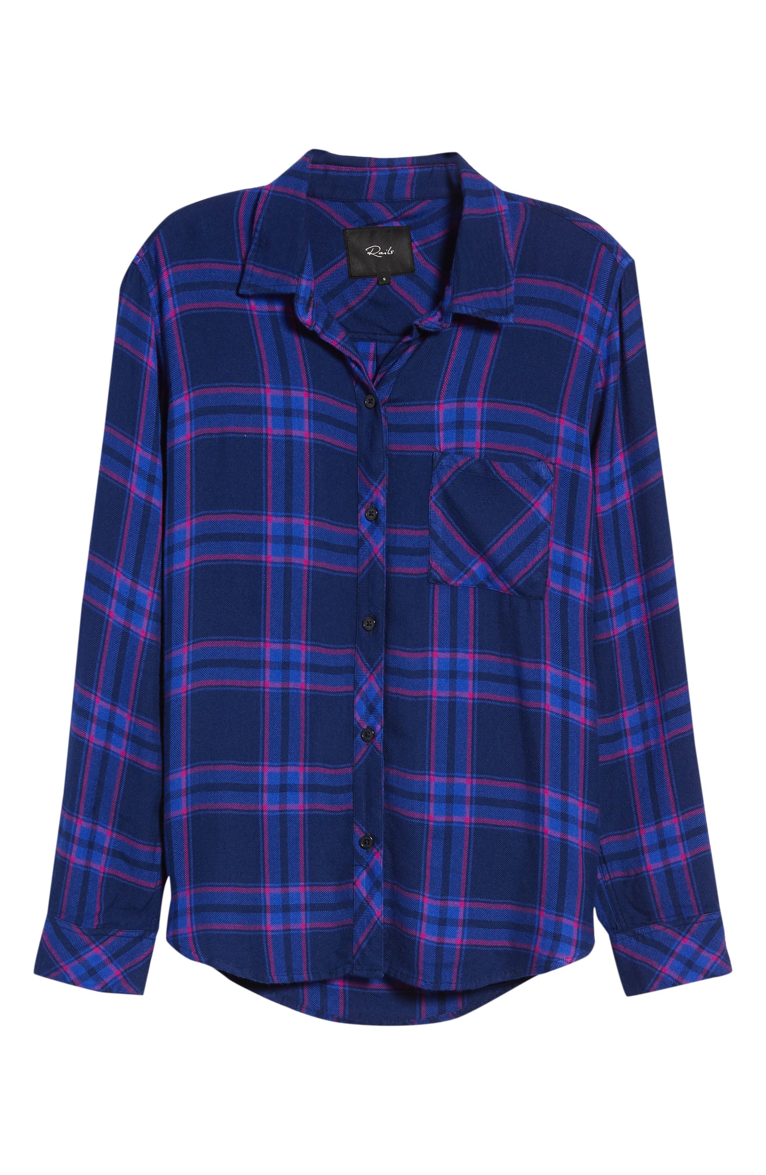 Hunter Plaid Shirt,                             Alternate thumbnail 686, color,