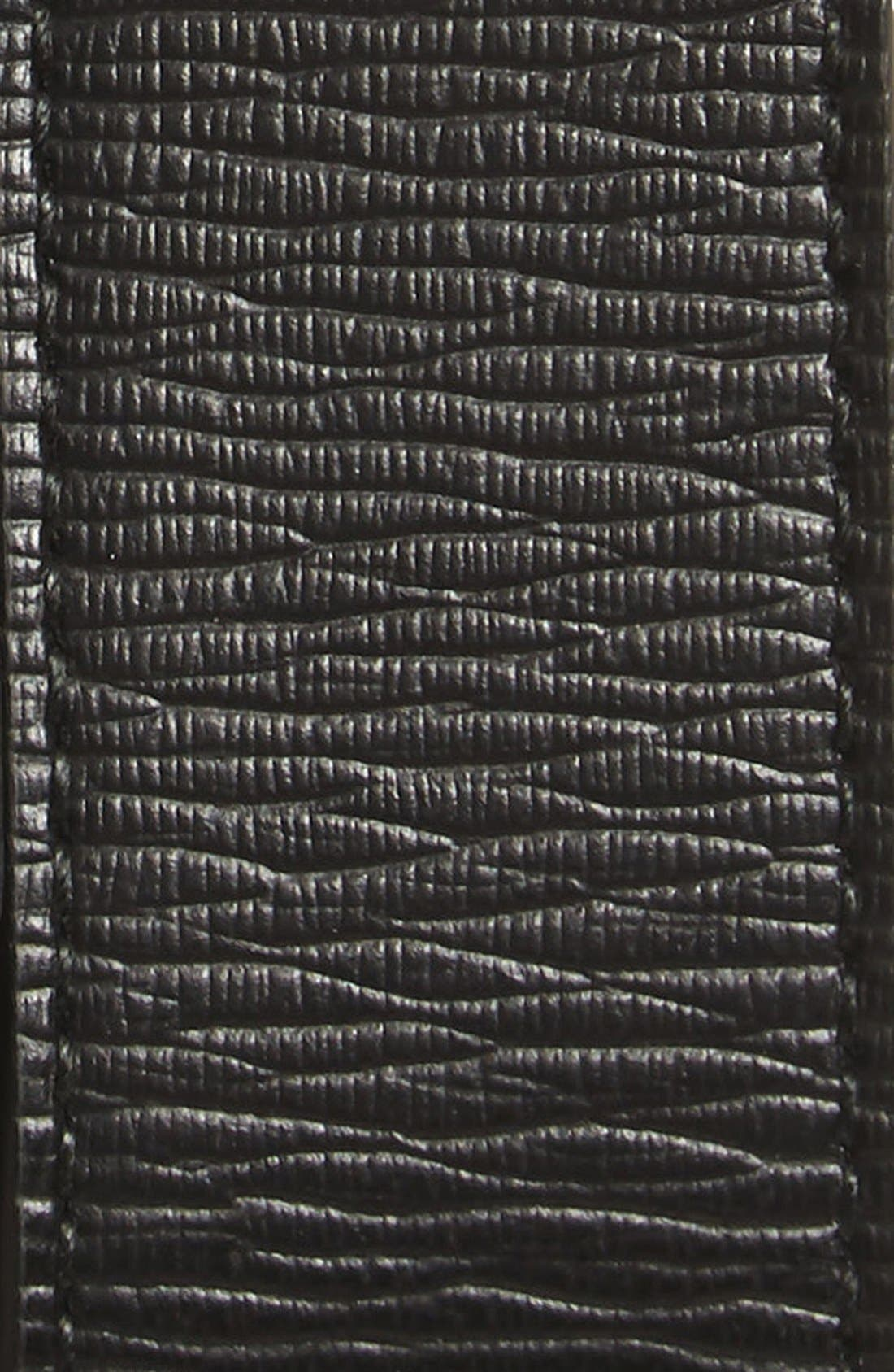 Revival Reversible Leather Belt,                             Alternate thumbnail 4, color,                             BLACK/BROWN