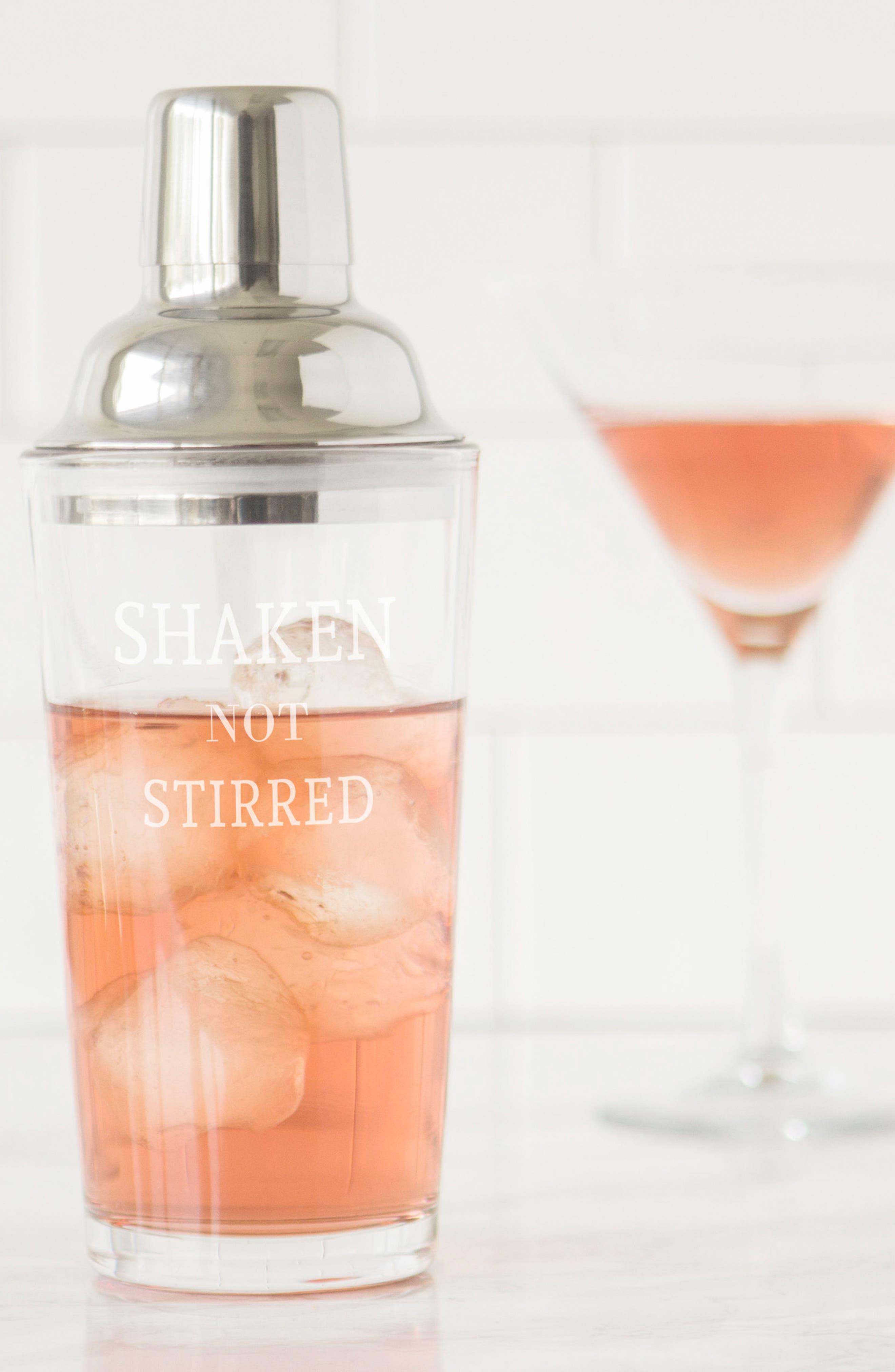 Shaken Not Stirred Cocktail Shaker,                             Alternate thumbnail 16, color,